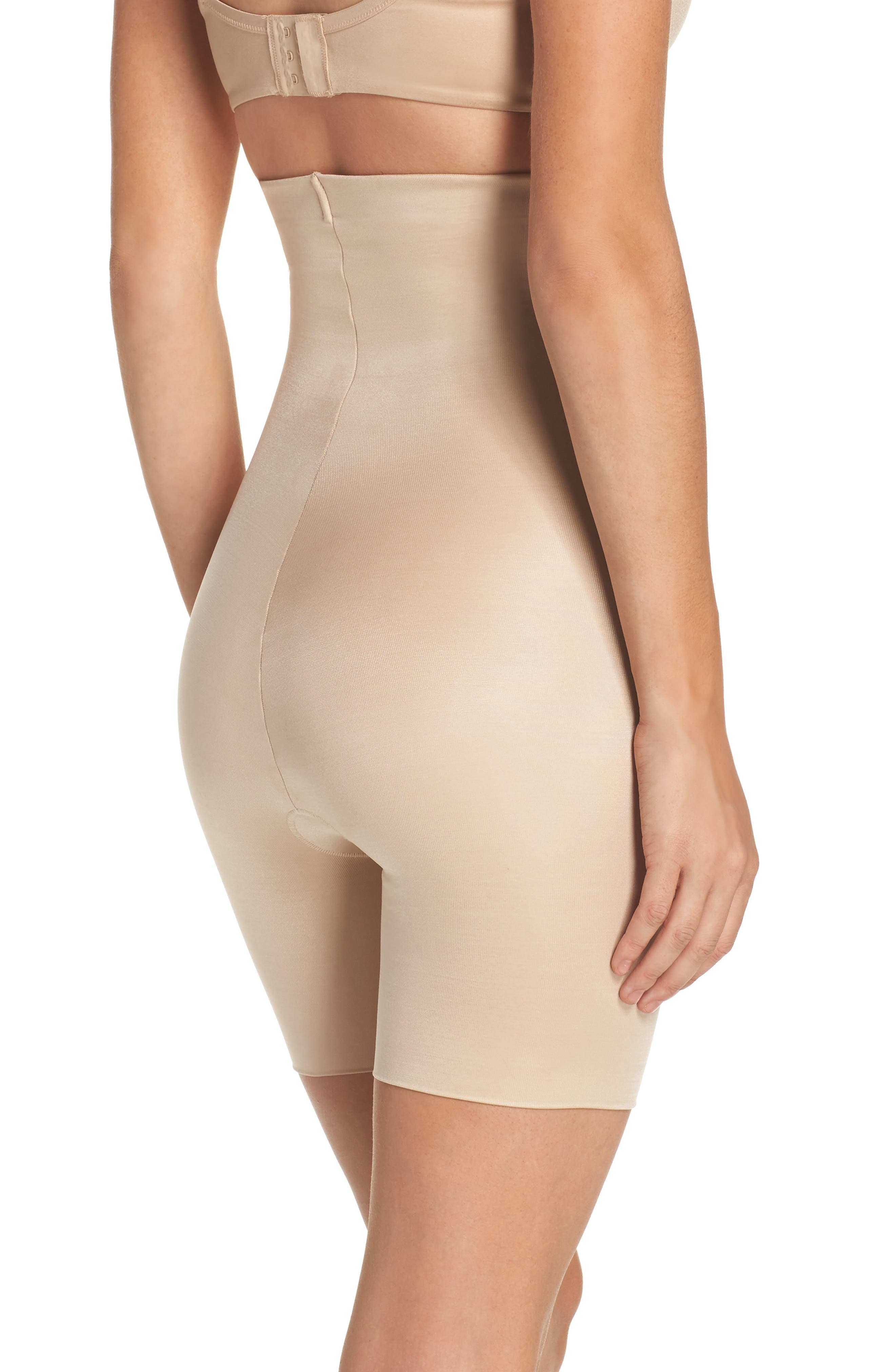 Alternate Image 2  - SPANX® Power Conceal-Her High Waist Shaping Shorts