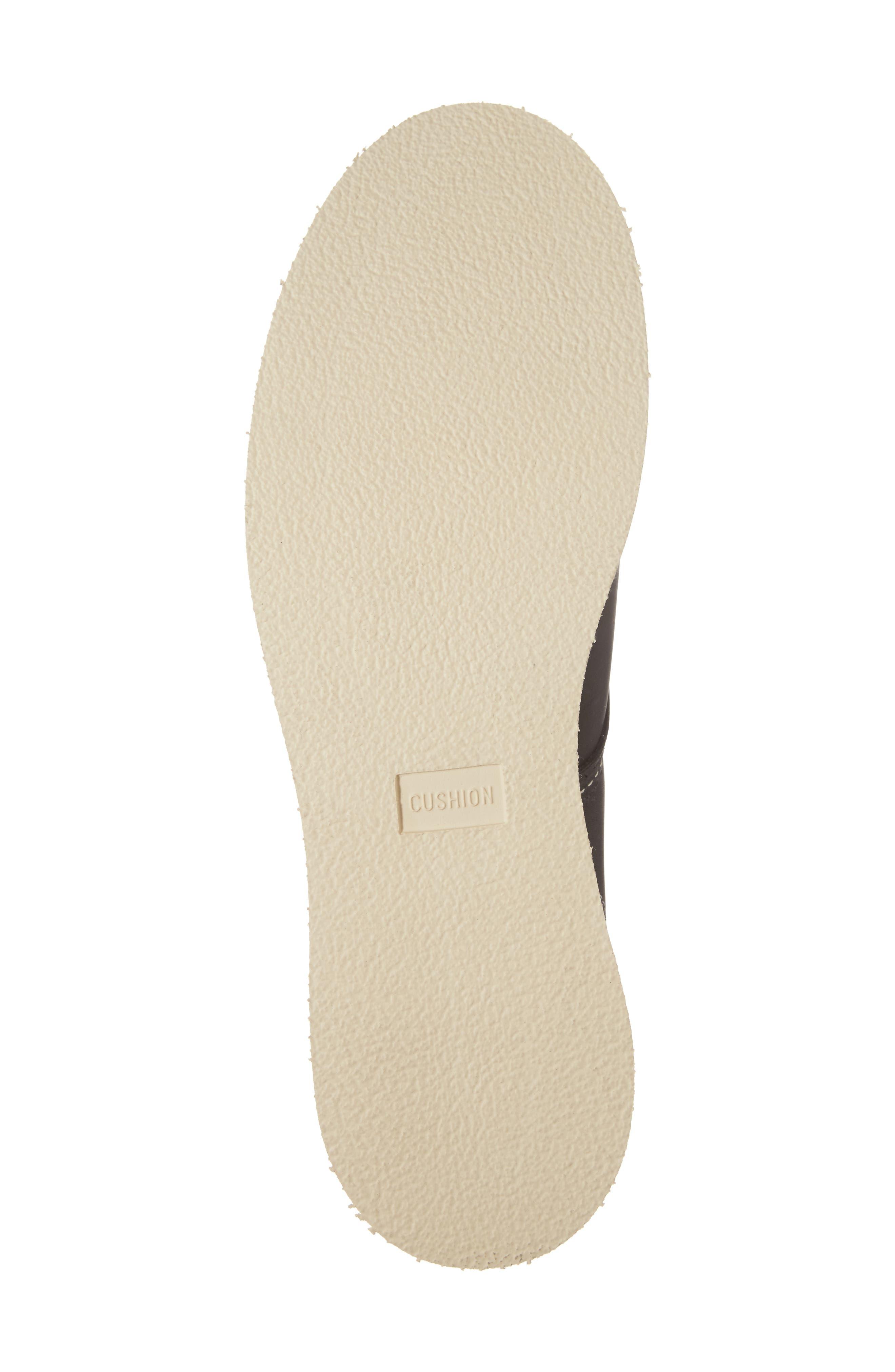 Rover Plain Toe Boot,                             Alternate thumbnail 6, color,                             Black Harness Leather