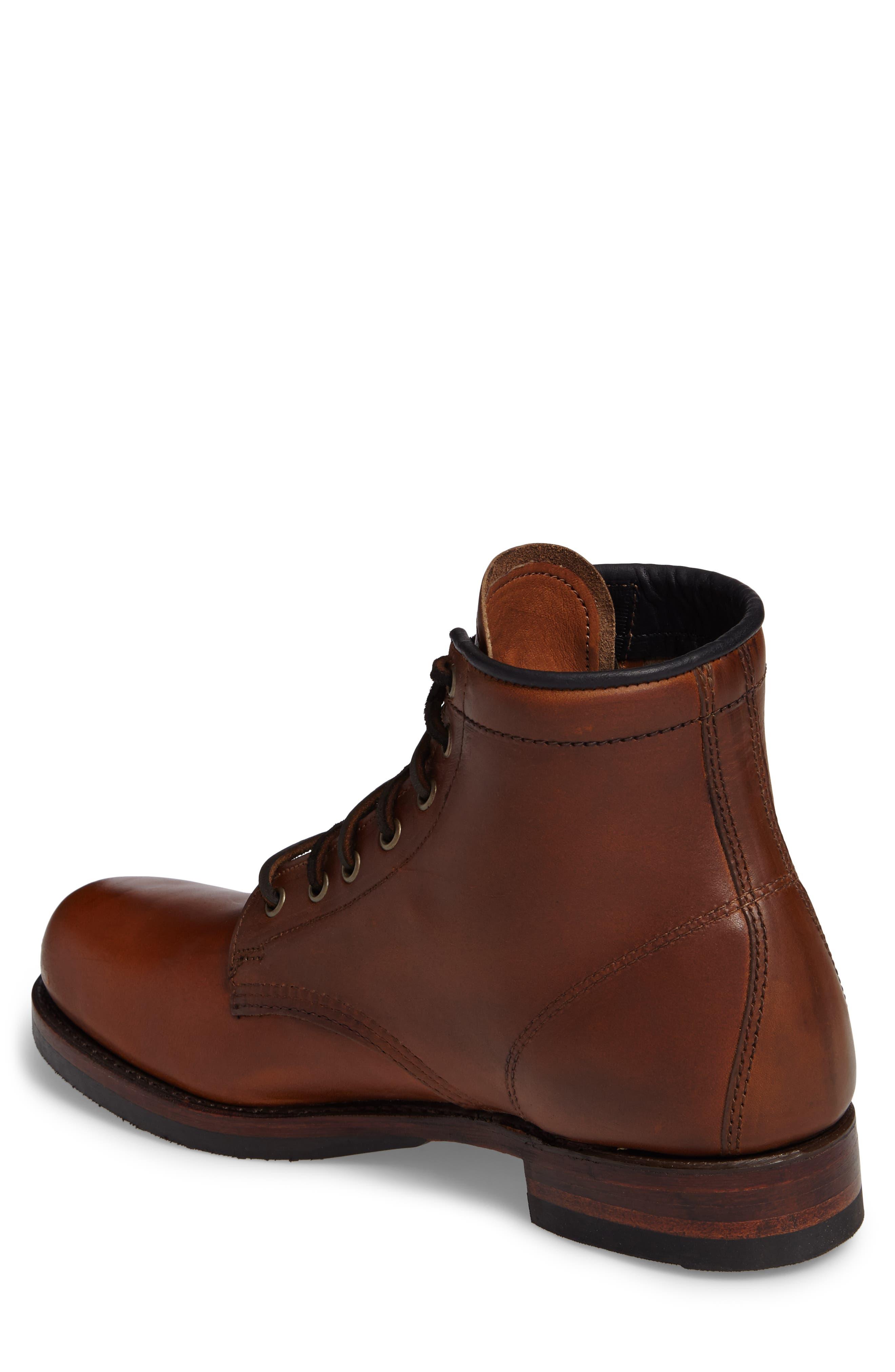 Alternate Image 2  - Frye John Addison Plain Toe Boot (Men)