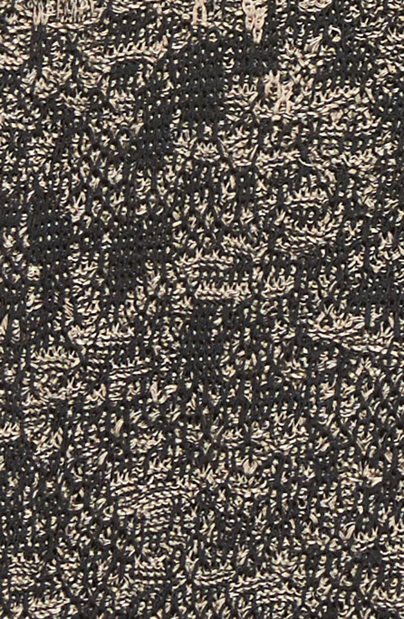 Alternate Image 5  - Ming Wang Jacquard Knit Jacket