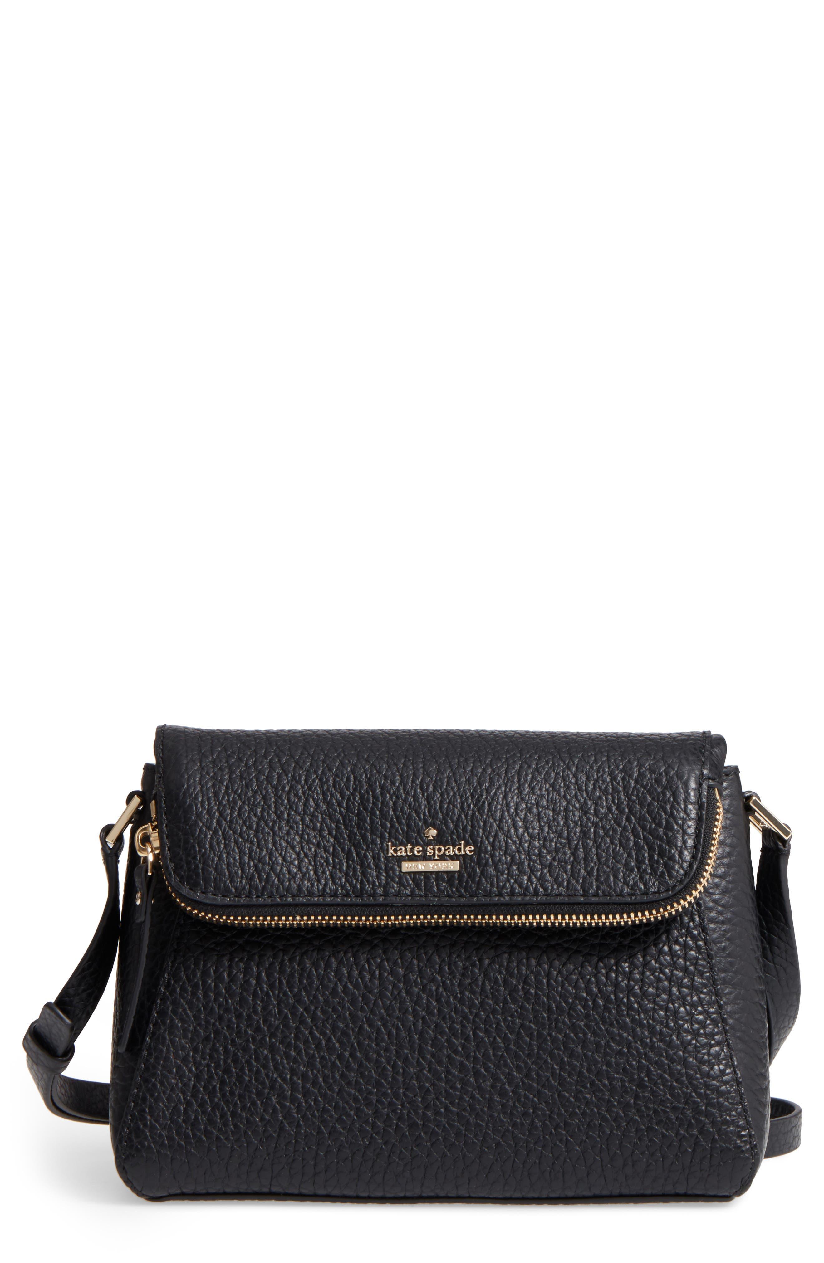 Alternate Image 1 Selected - kate spade new york carter street - berrin leather crossbody bag