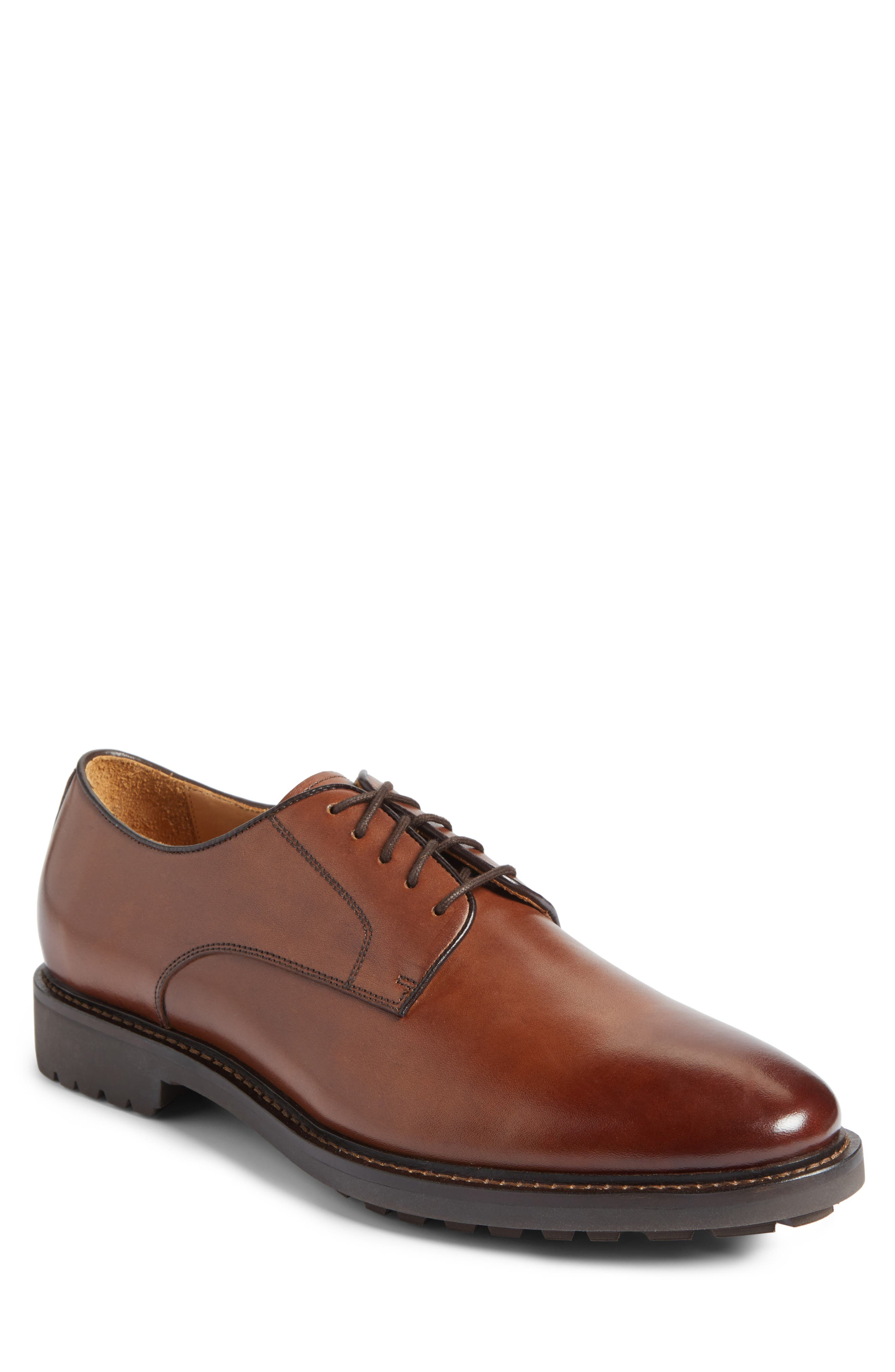 John W. Nordstrom® Torres Plain Toe Derby (Men)