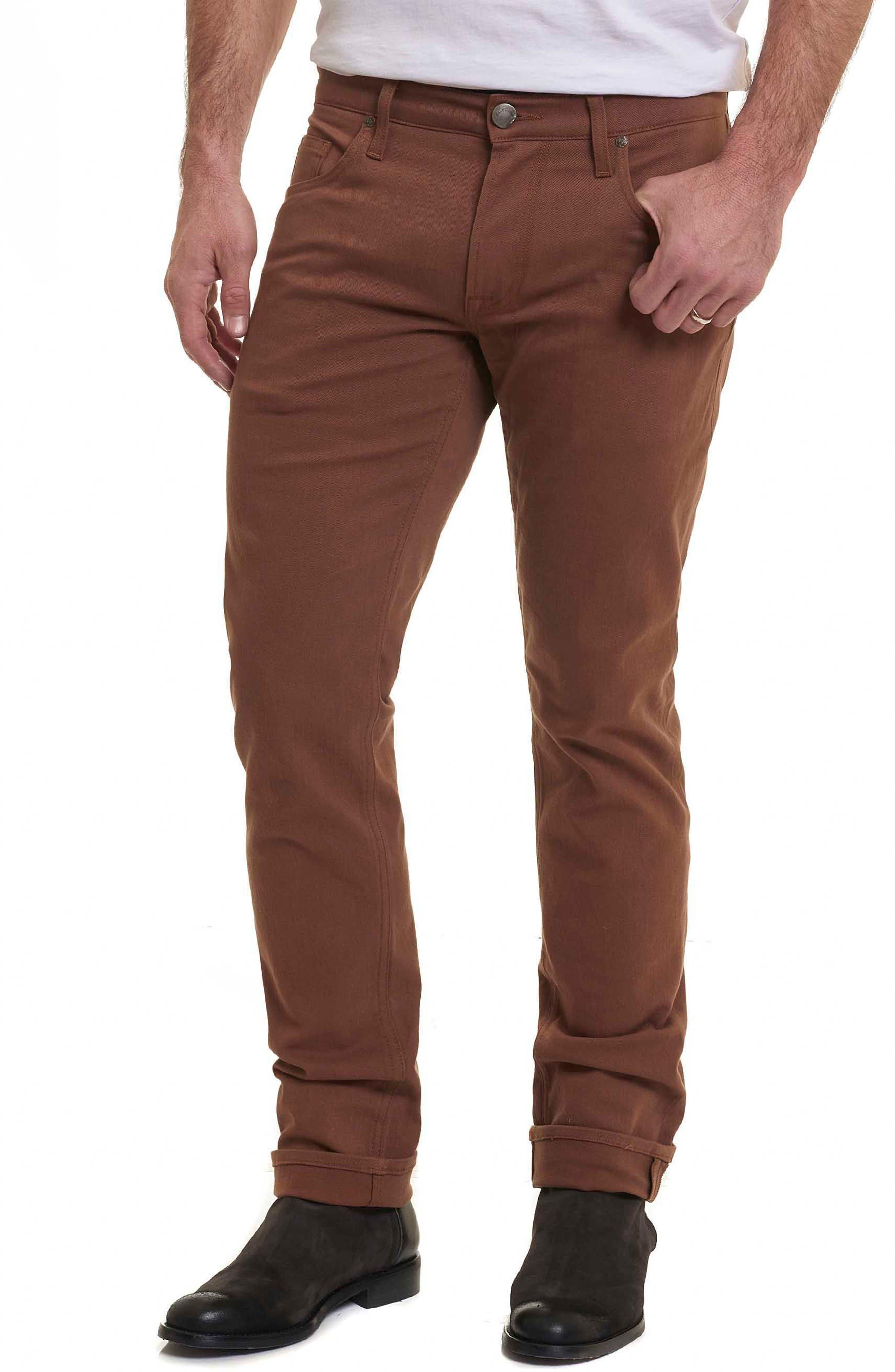 Corwin Classic Fit Jeans,                             Main thumbnail 1, color,                             Copper