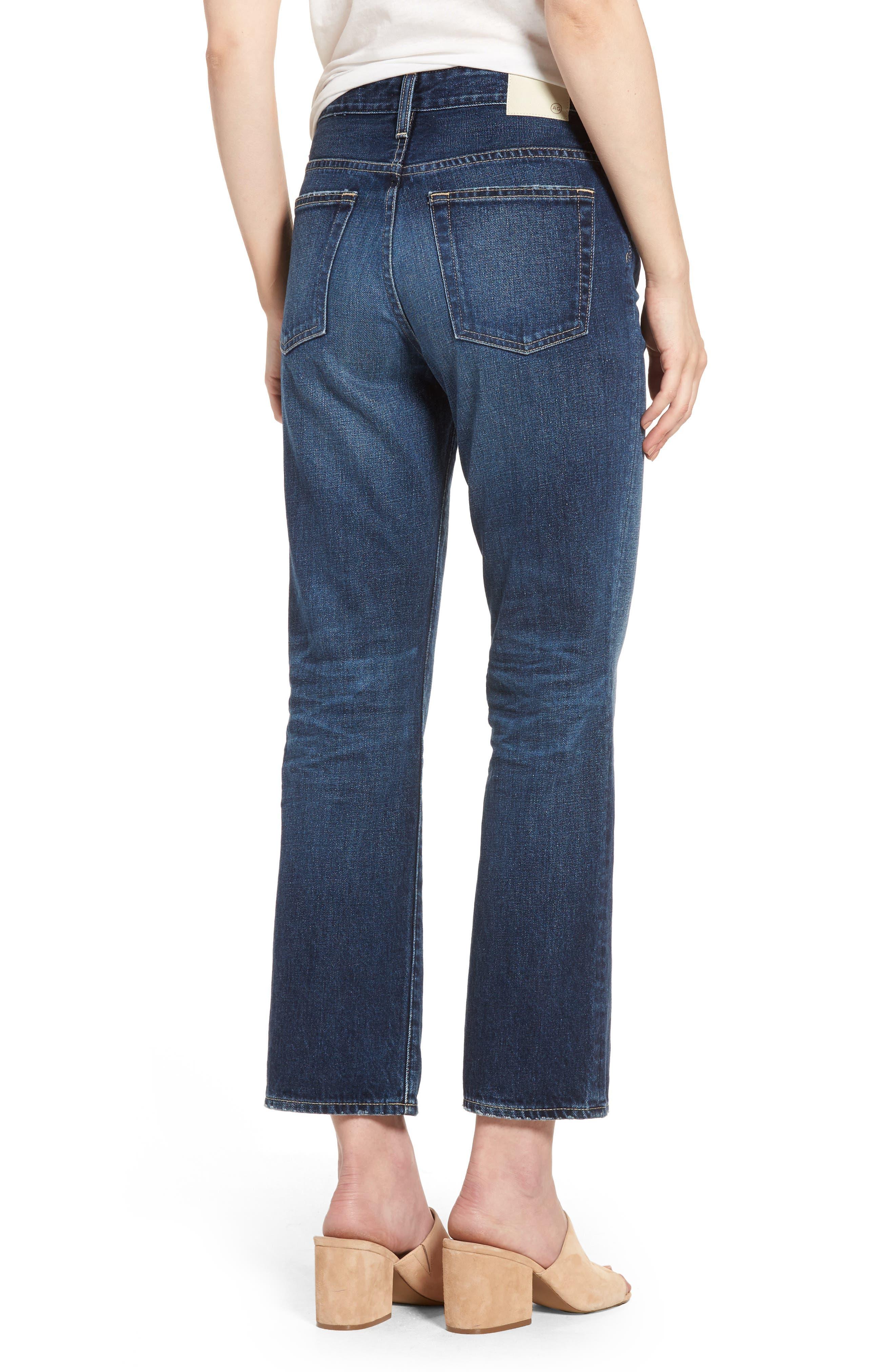 The Rhett Vintage High Waist Crop Jeans,                             Alternate thumbnail 3, color,                             11 Years Jubilee