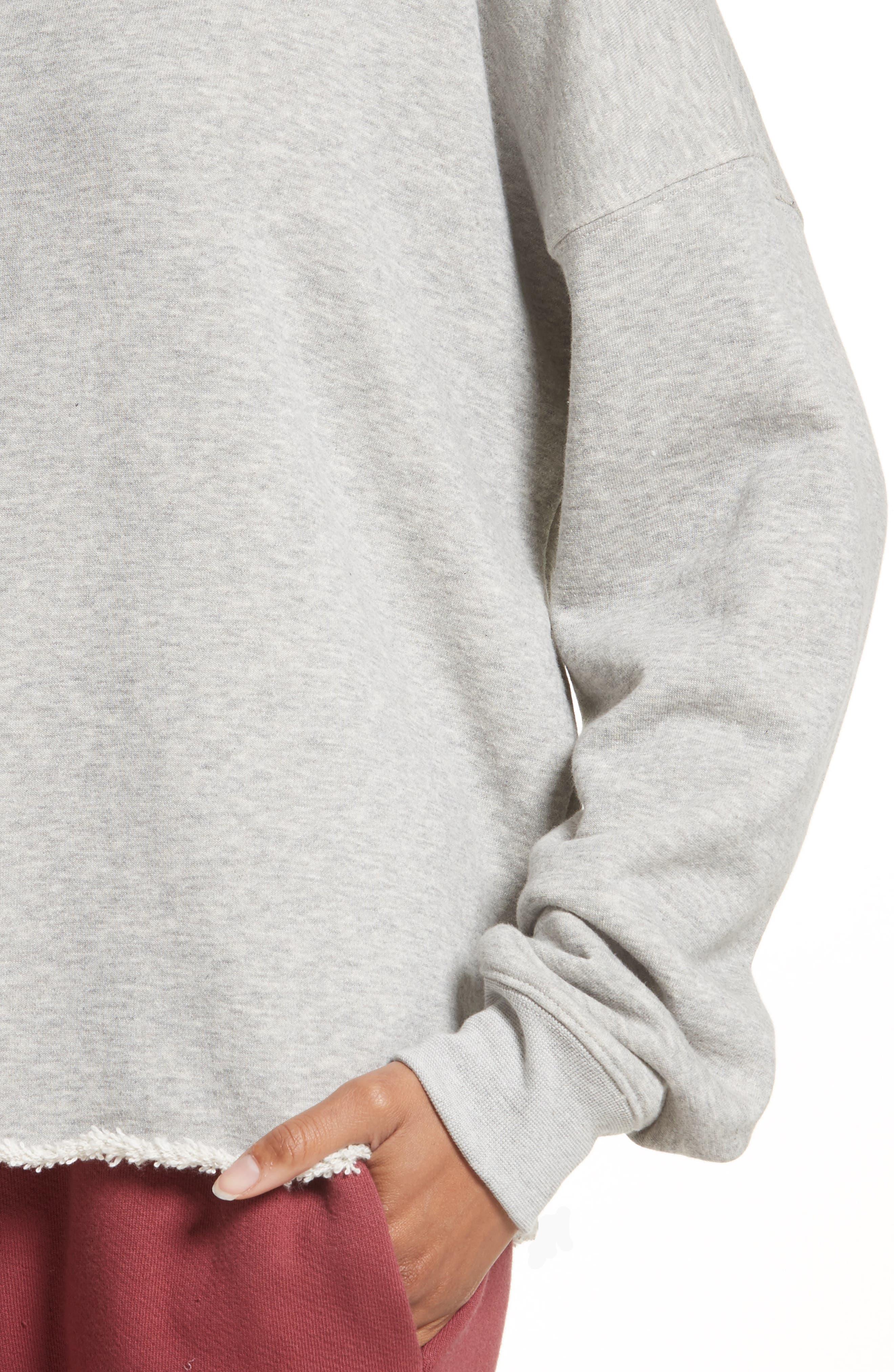 Alternate Image 6  - Simon Miller Brushed Terry Sweatshirt