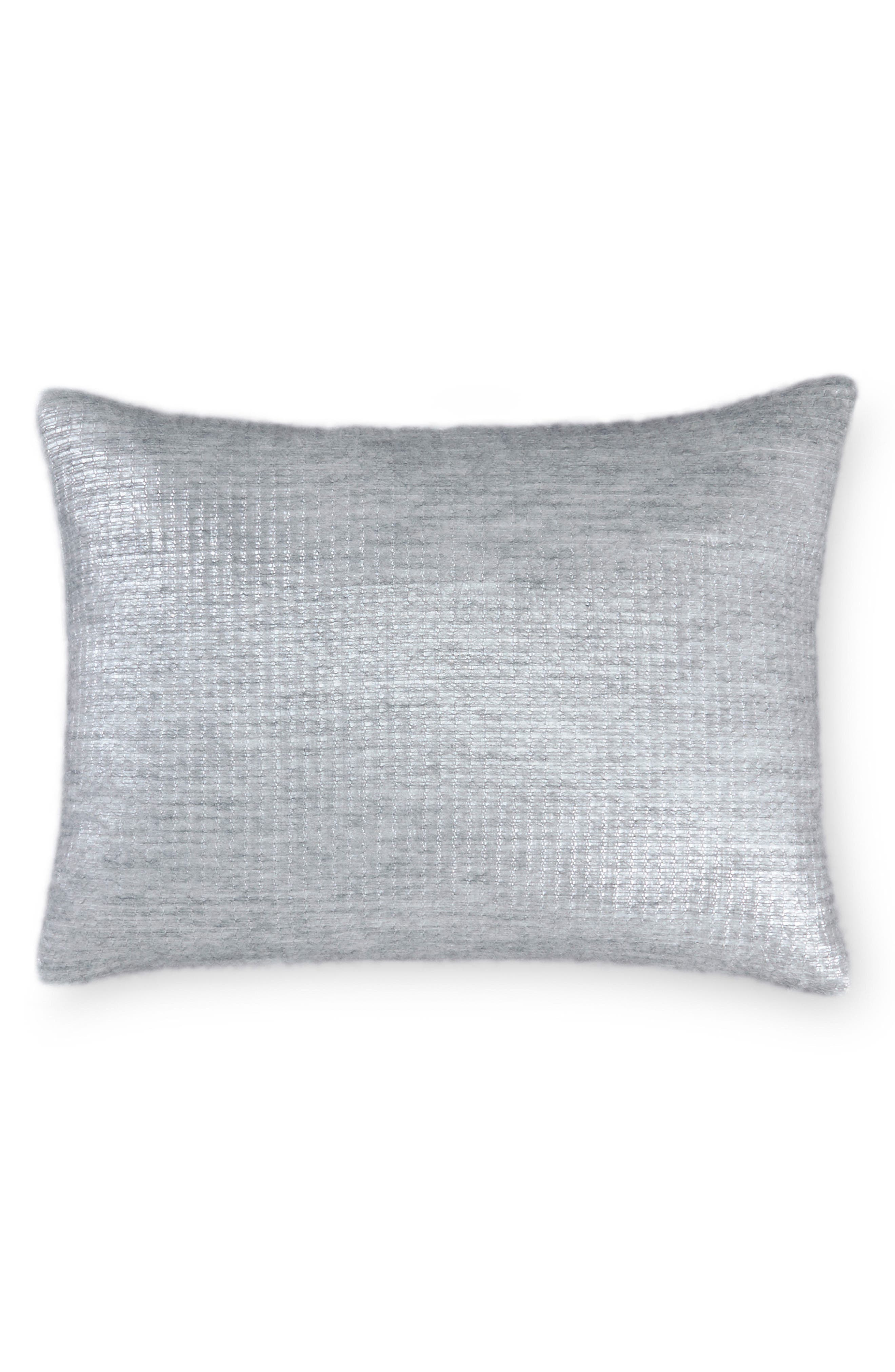 Fonta Accent Pillow,                         Main,                         color, Crystal