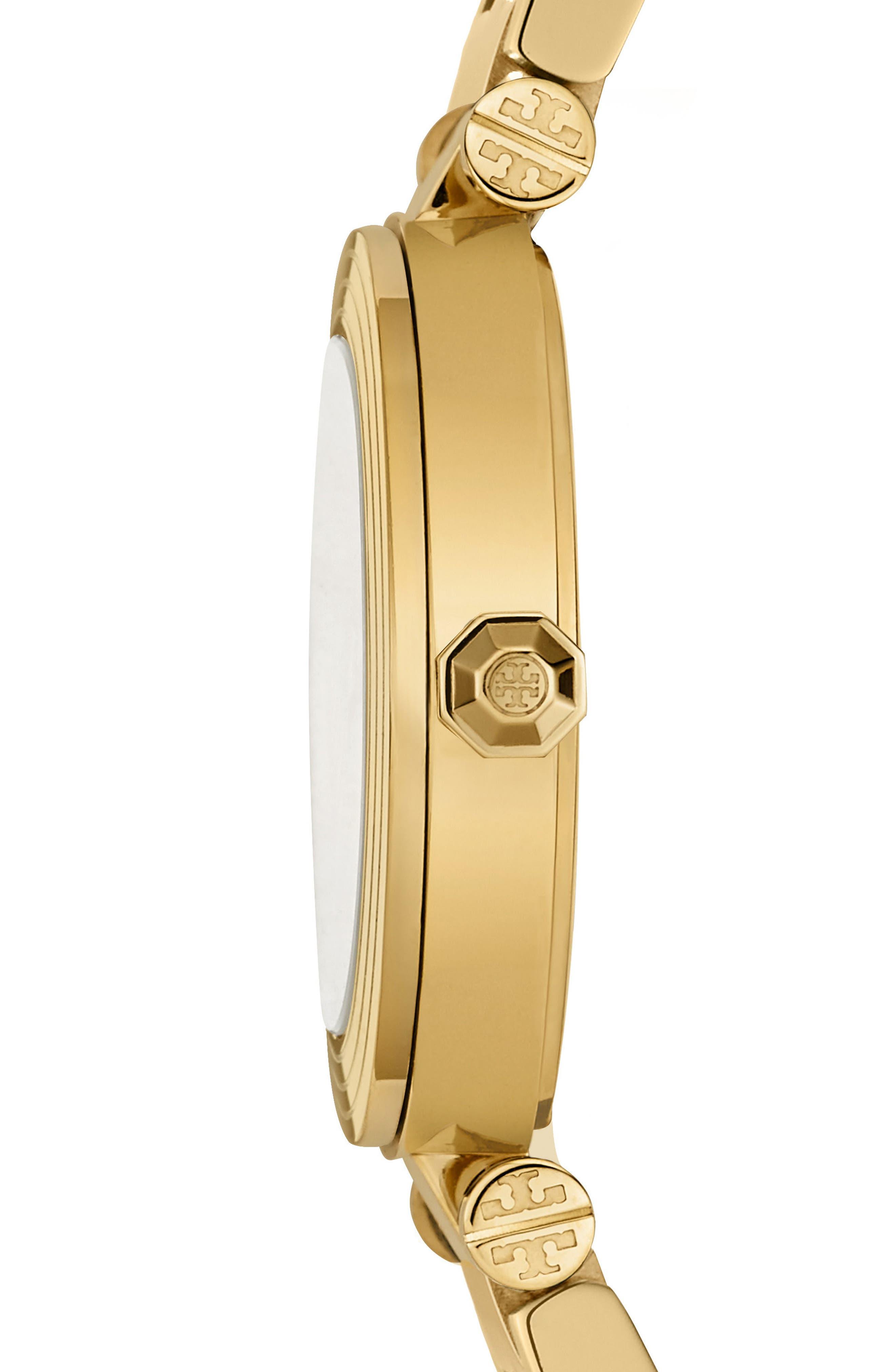 Alternate Image 2  - Tory Burch Classic-T Bracelet Watch, 36mm