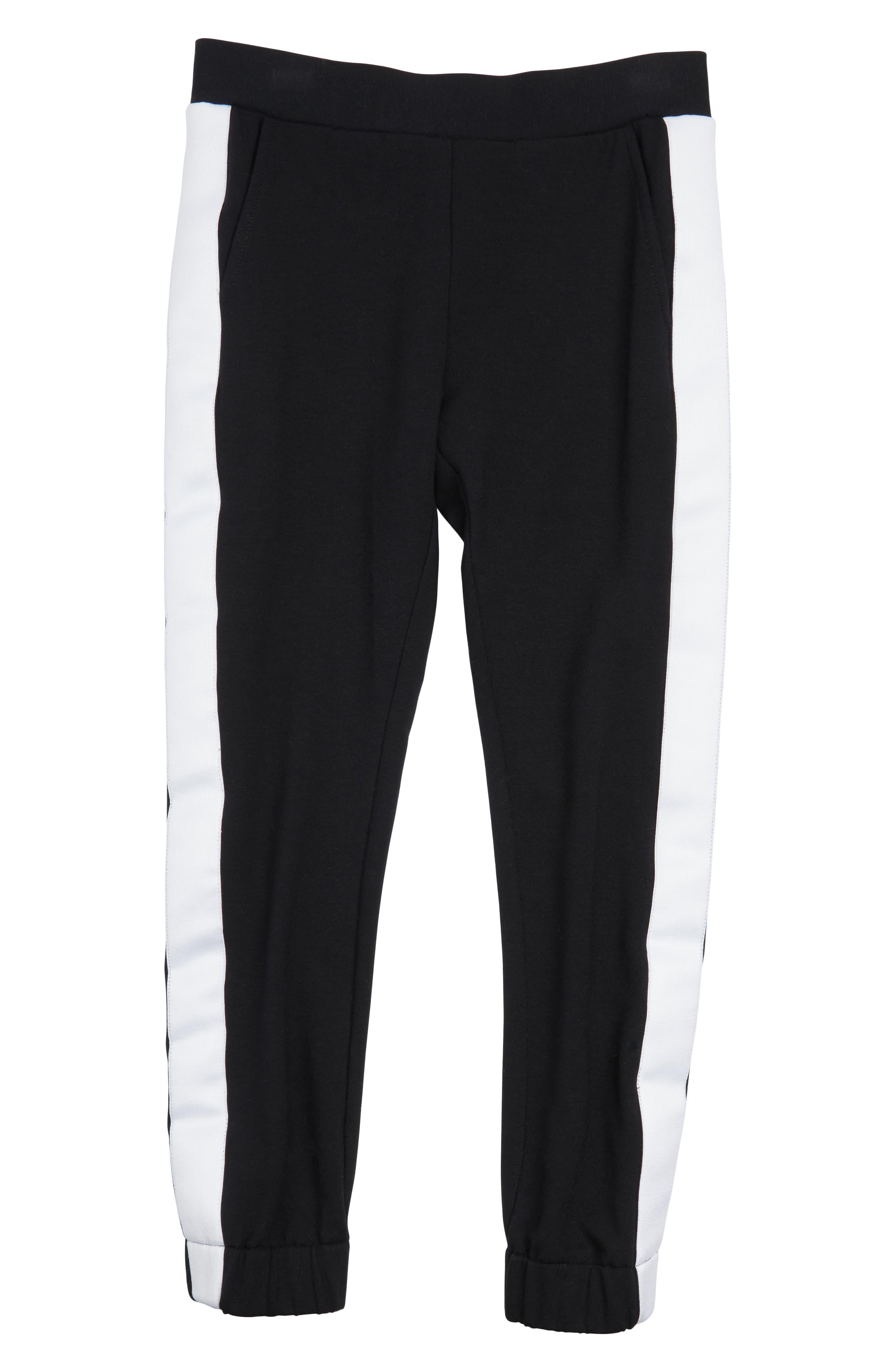 MADDIE Side Stripe Jogger Pants