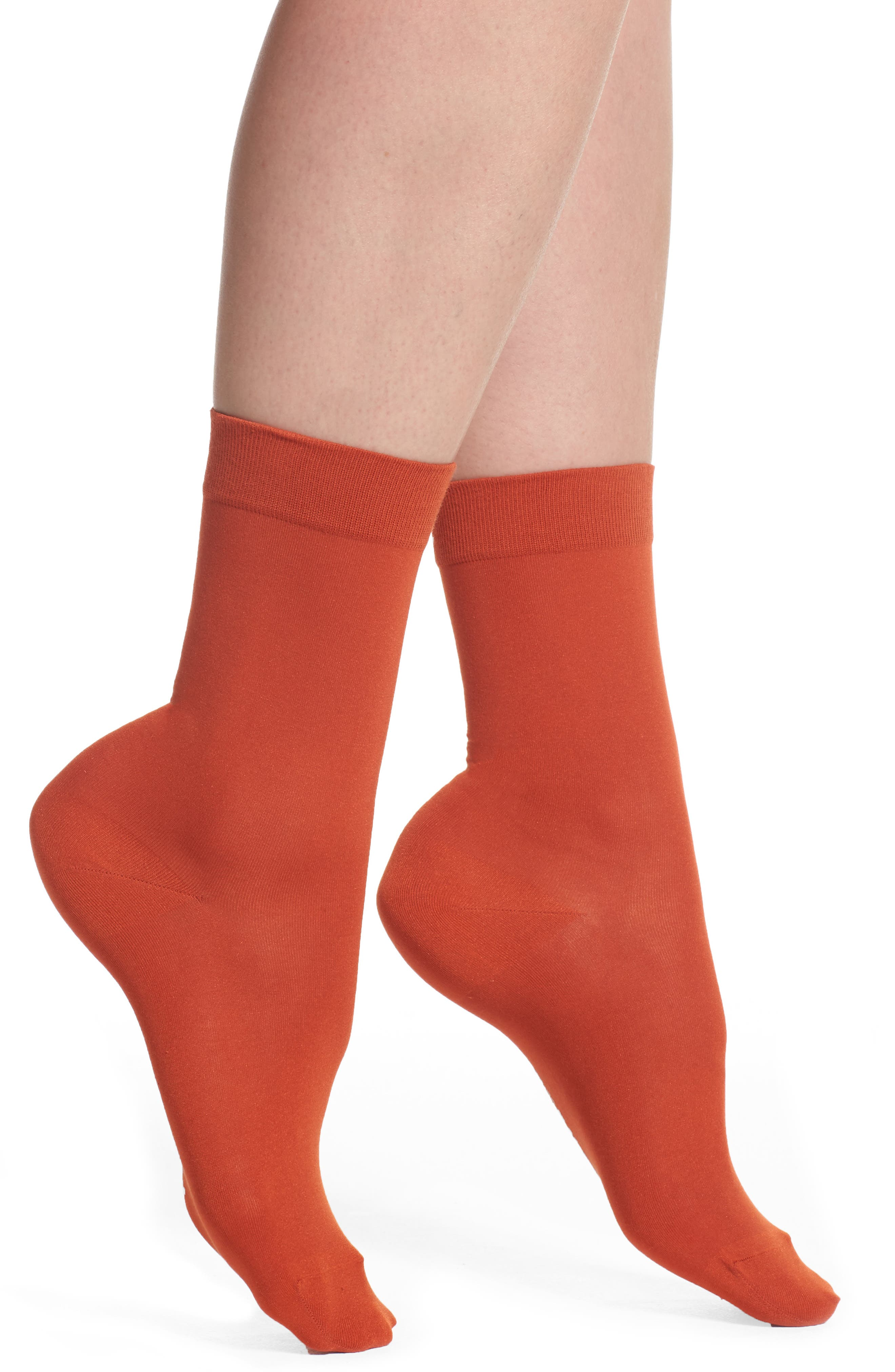 Alternate Image 1 Selected - Falke Cotton Blend Trouser Socks