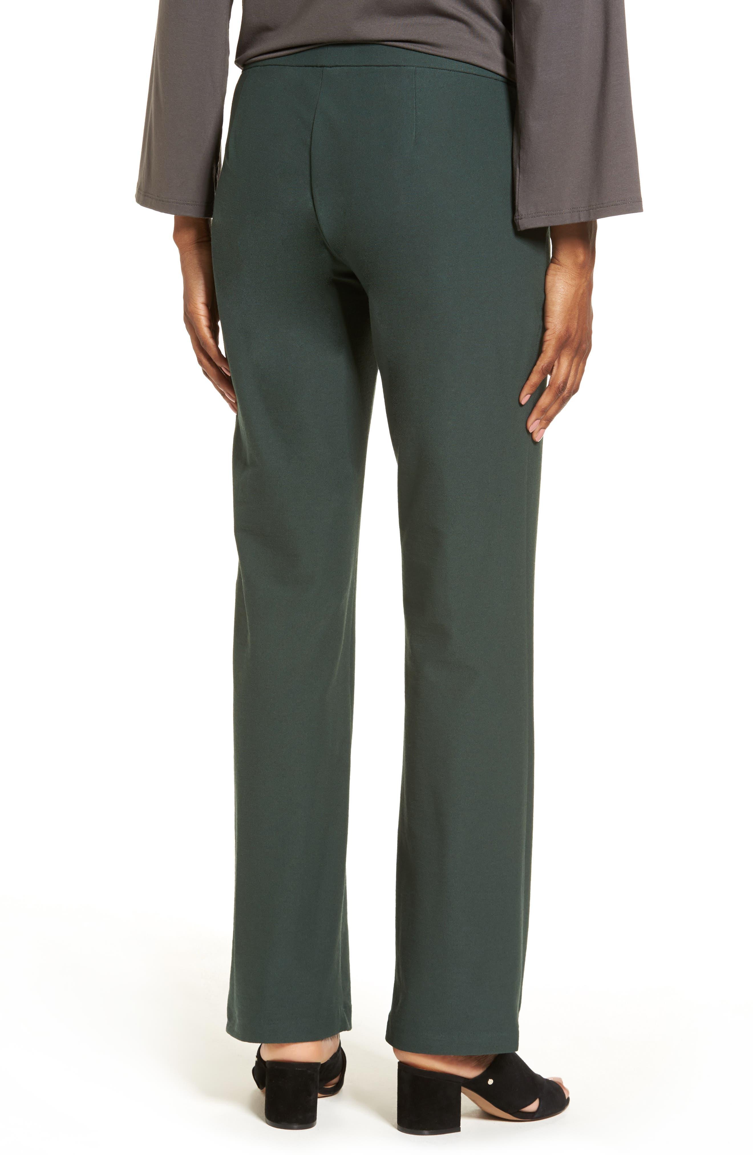 Alternate Image 2  - Eileen Fisher Straight Leg Pants