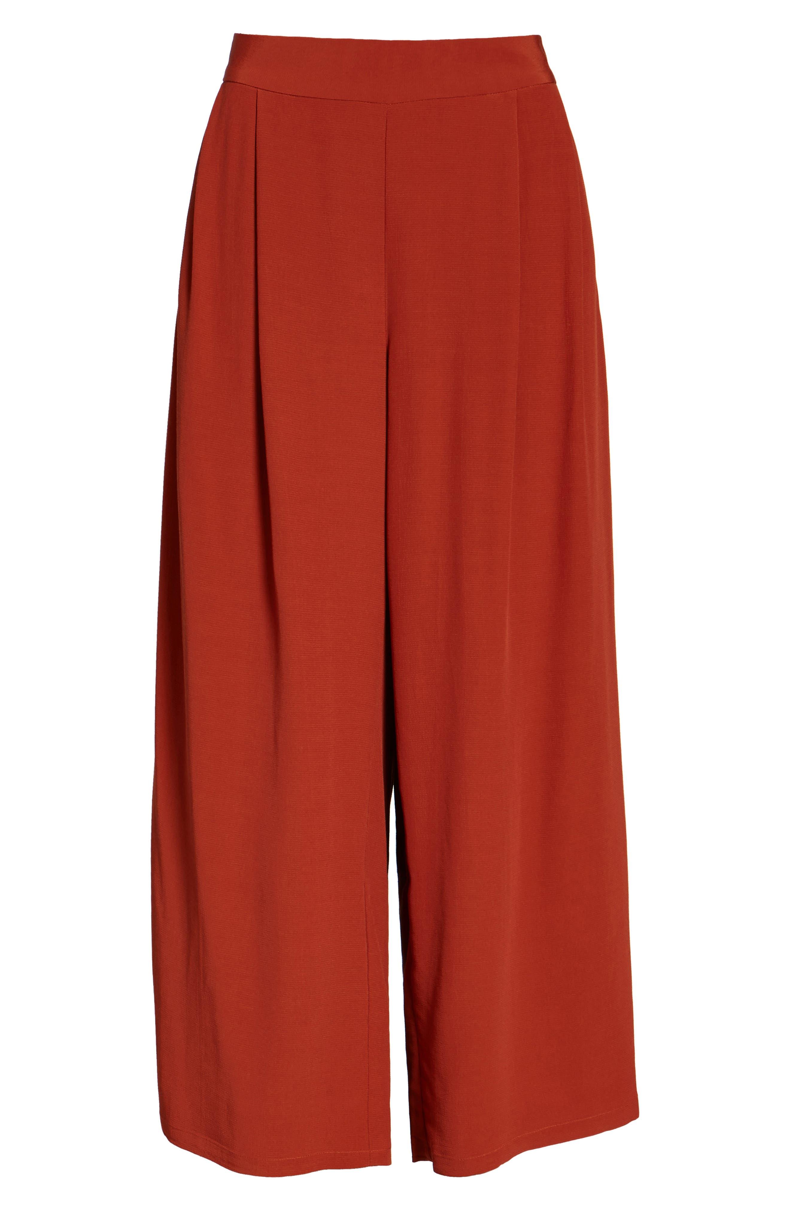 Alternate Image 6  - Eileen Fisher Wide Leg Pants (Regular & Petite)