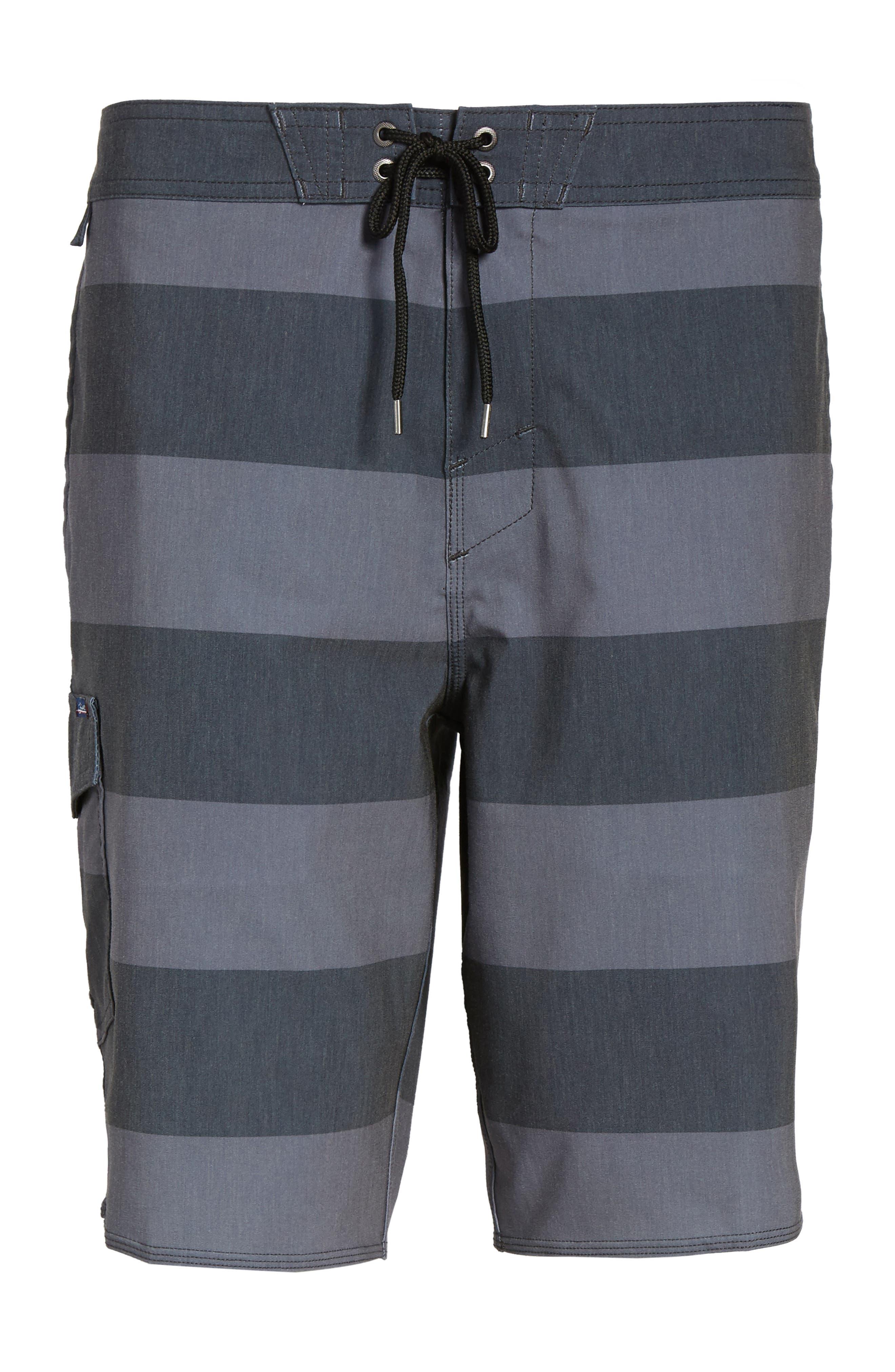 Homage Board Shorts,                             Alternate thumbnail 6, color,                             Black