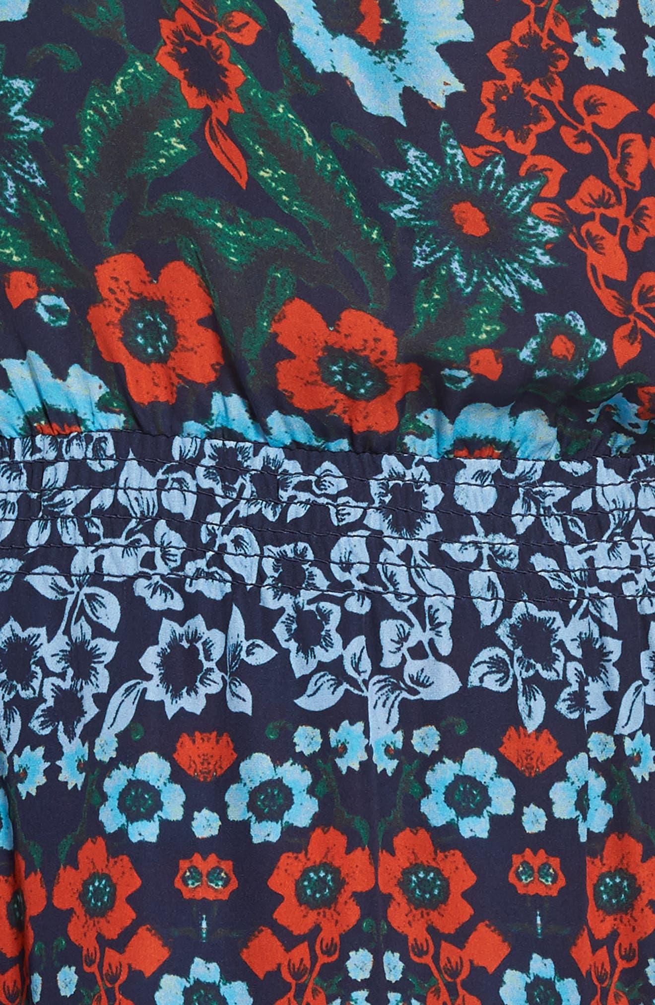 Alternate Image 5  - Parker Clarisse One-Shoulder Silk Dress