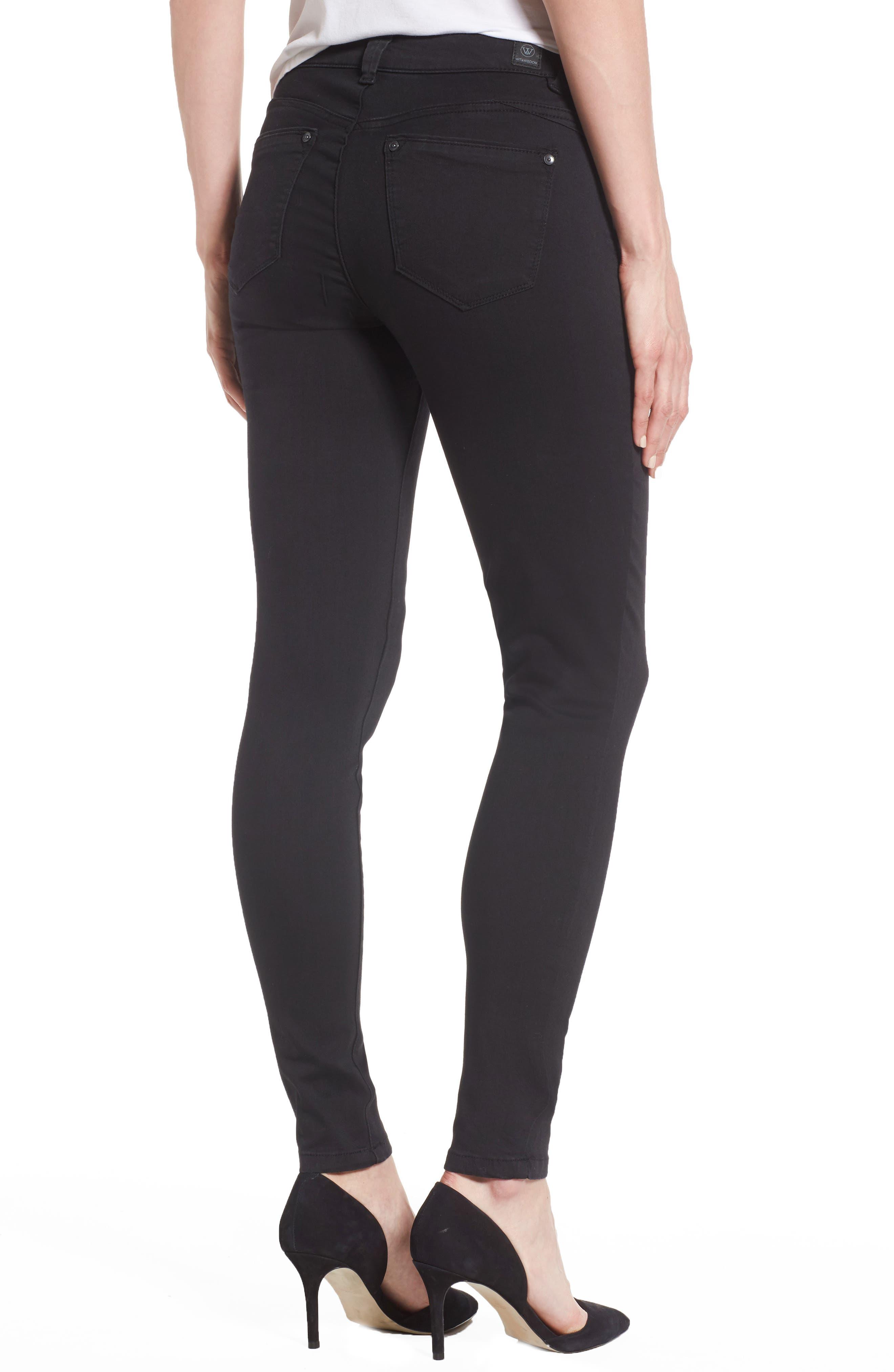 Alternate Image 2  - Wit & Wisdom Skinny Jeans (Nordstrom Exclusive) (Regular & Petite)