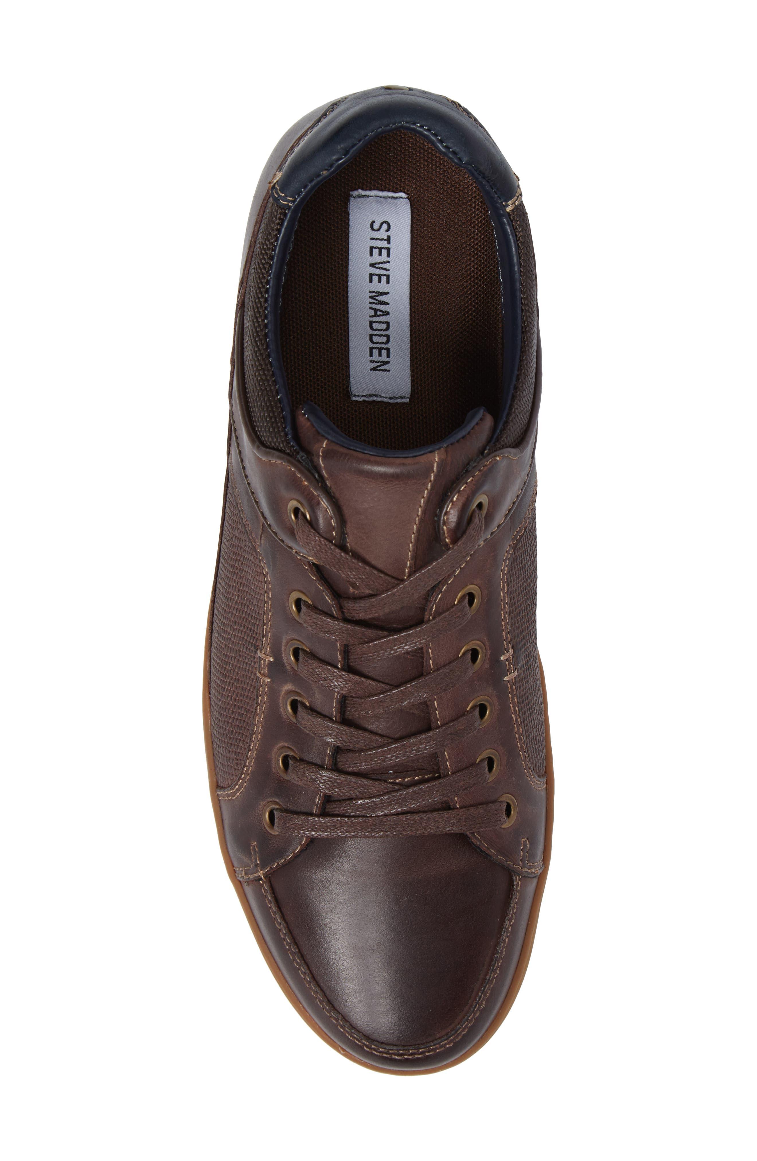 Alternate Image 5  - Steve Madden Palis Sneaker (Men)