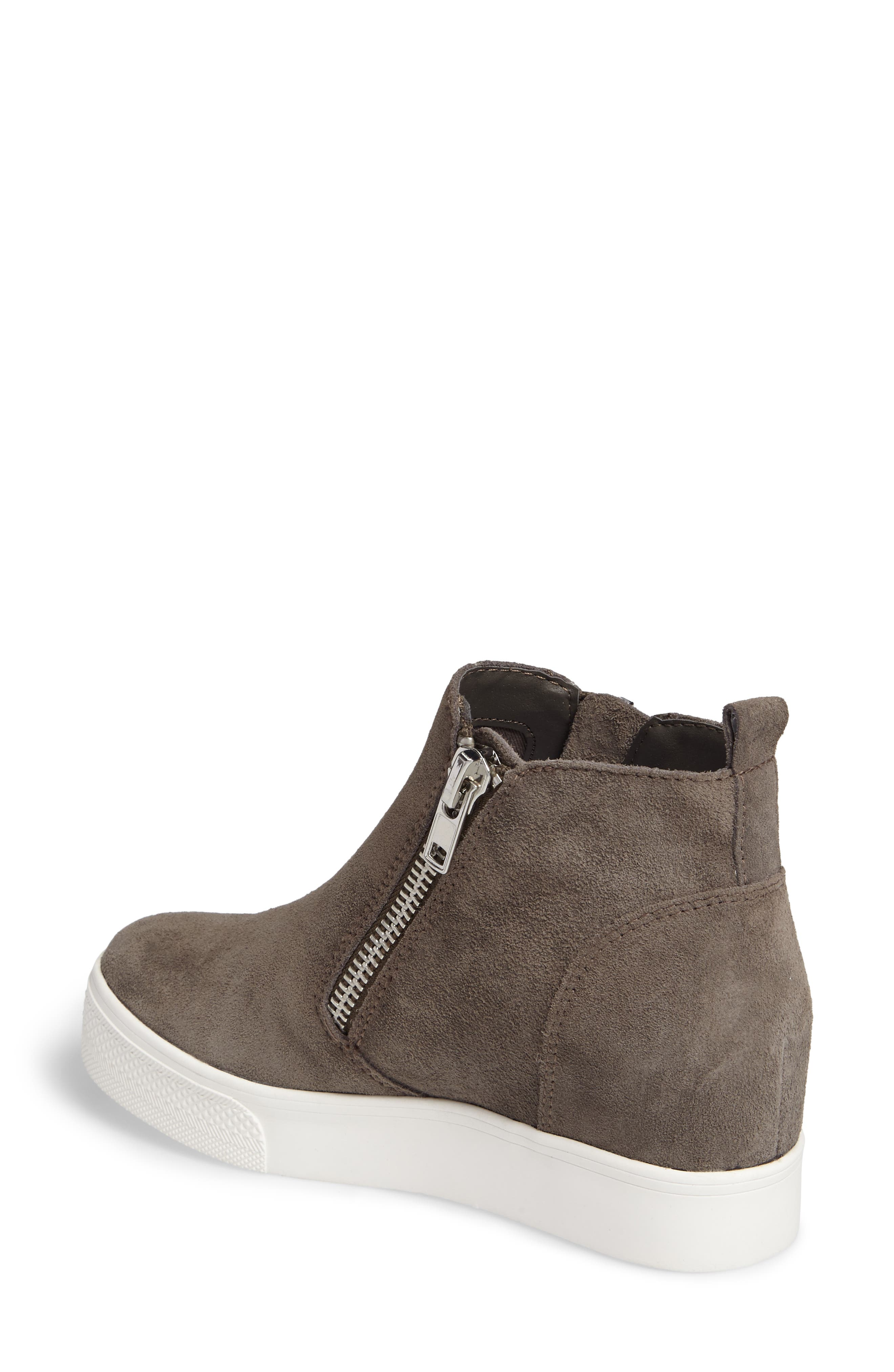 Alternate Image 2  - Steve Madden Wedgie High Top Platform Sneaker (Women)