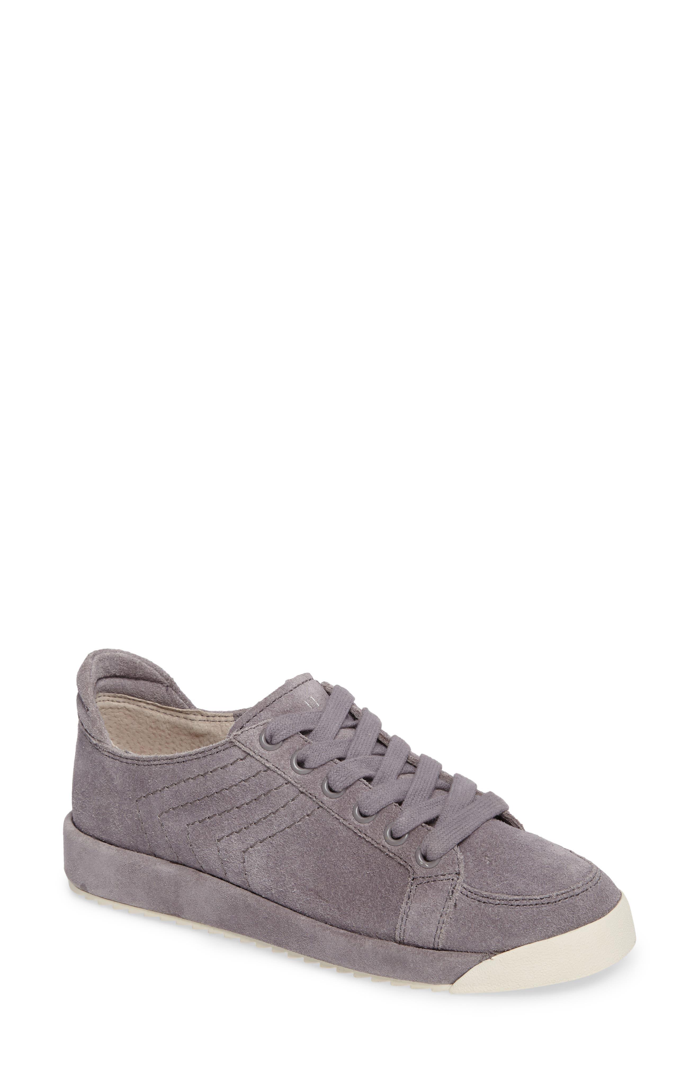 Sage Low-Top Sneaker,                         Main,                         color, Grey Suede