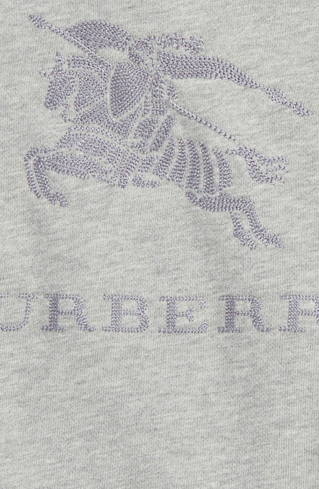 Alternate Image 2  - Burberry Tom Embroidered Pullover (Toddler Boys)