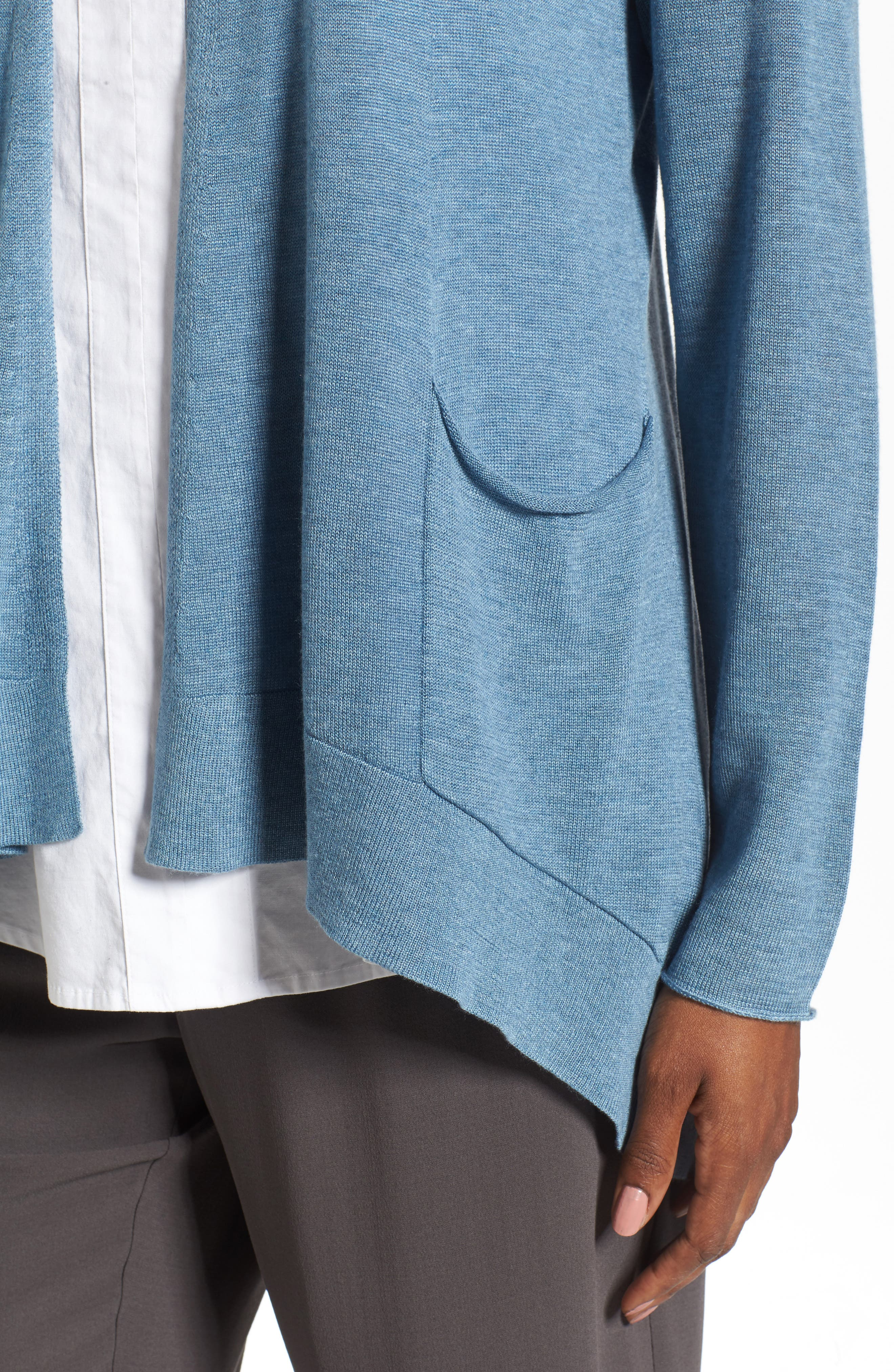 Alternate Image 4  - Eileen Fisher Slouchy Tencel® Blend Cardigan