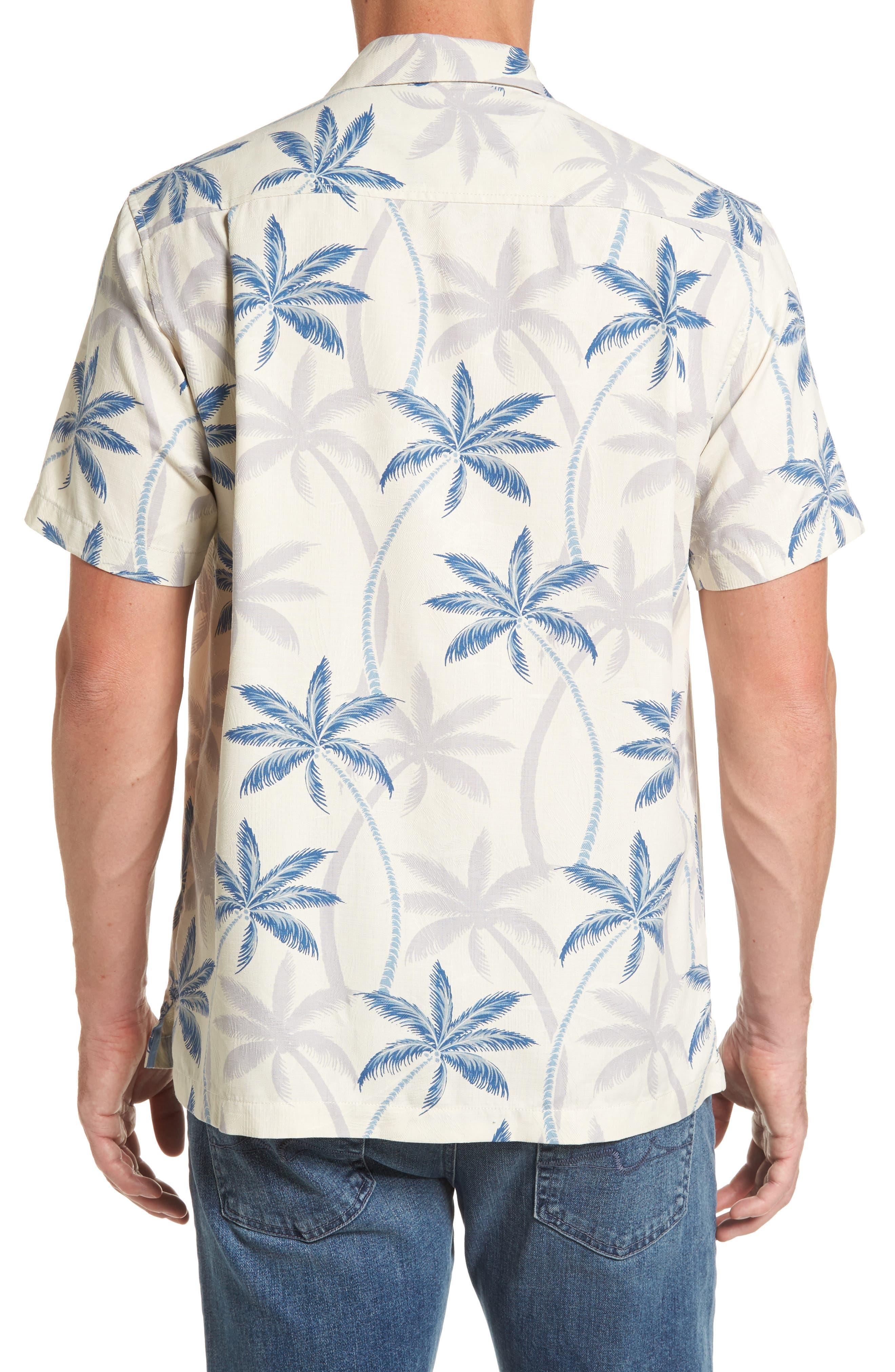 Palmas Palooza Woven Shirt,                             Alternate thumbnail 2, color,                             Continental