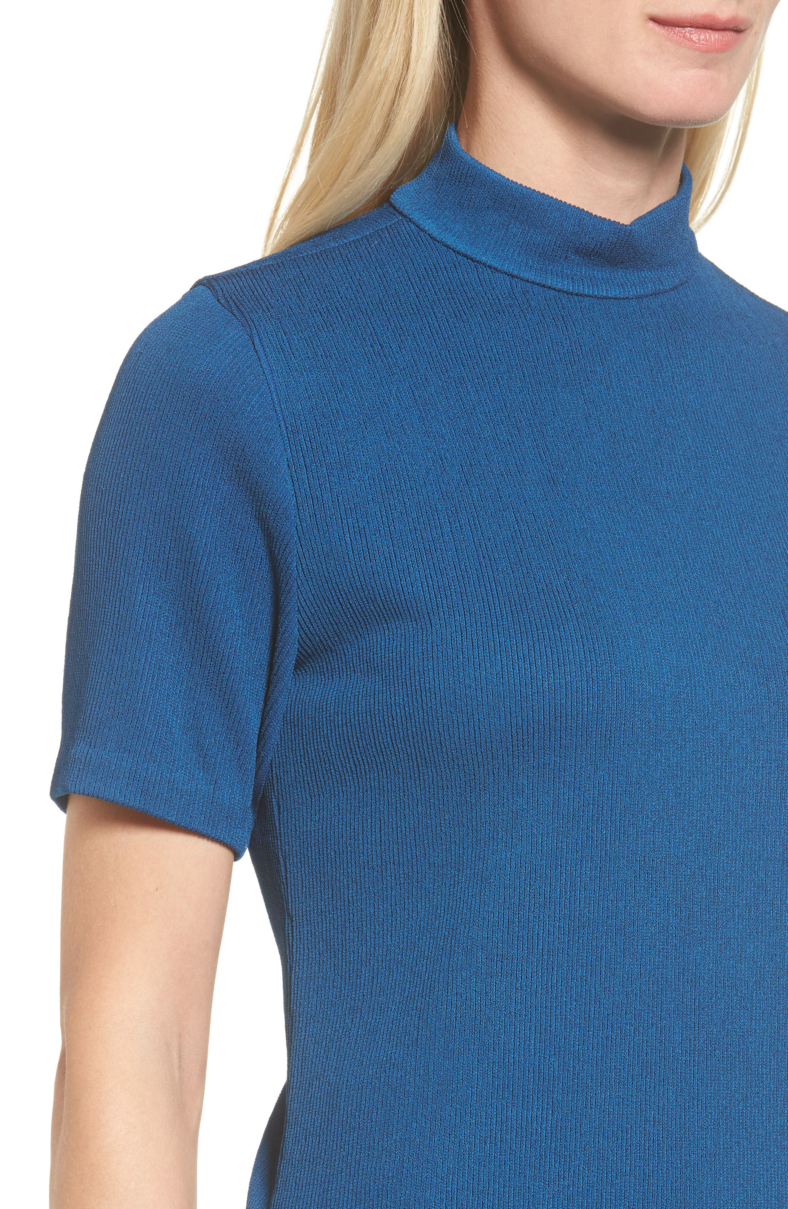 Etelina Sweater,                             Alternate thumbnail 4, color,                             Gentian Blue