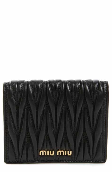 Miu Miu Matelassé Leather Wallet 8bc084876c1d