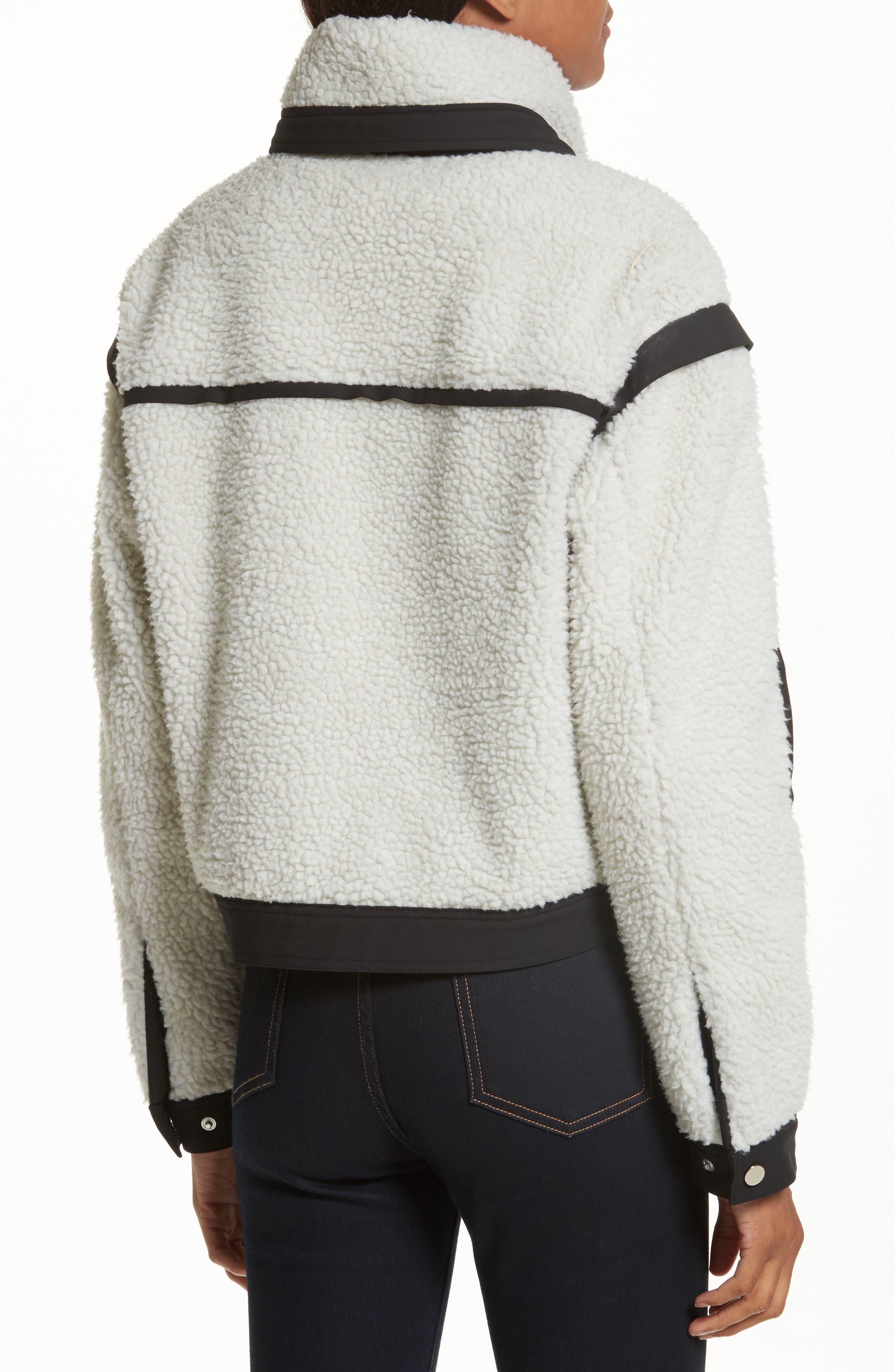 Alternate Image 2  - Veronica Beard Anita Fleece Jacket