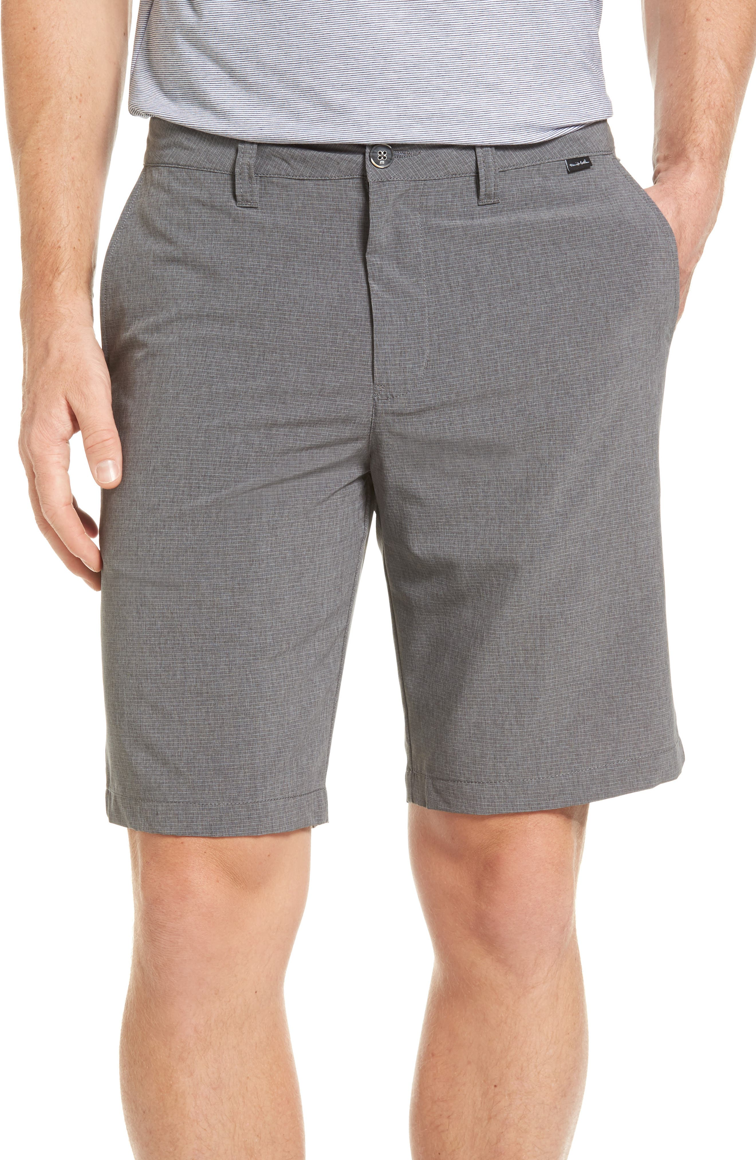 Chuck Shorts,                         Main,                         color, Heather Alloy