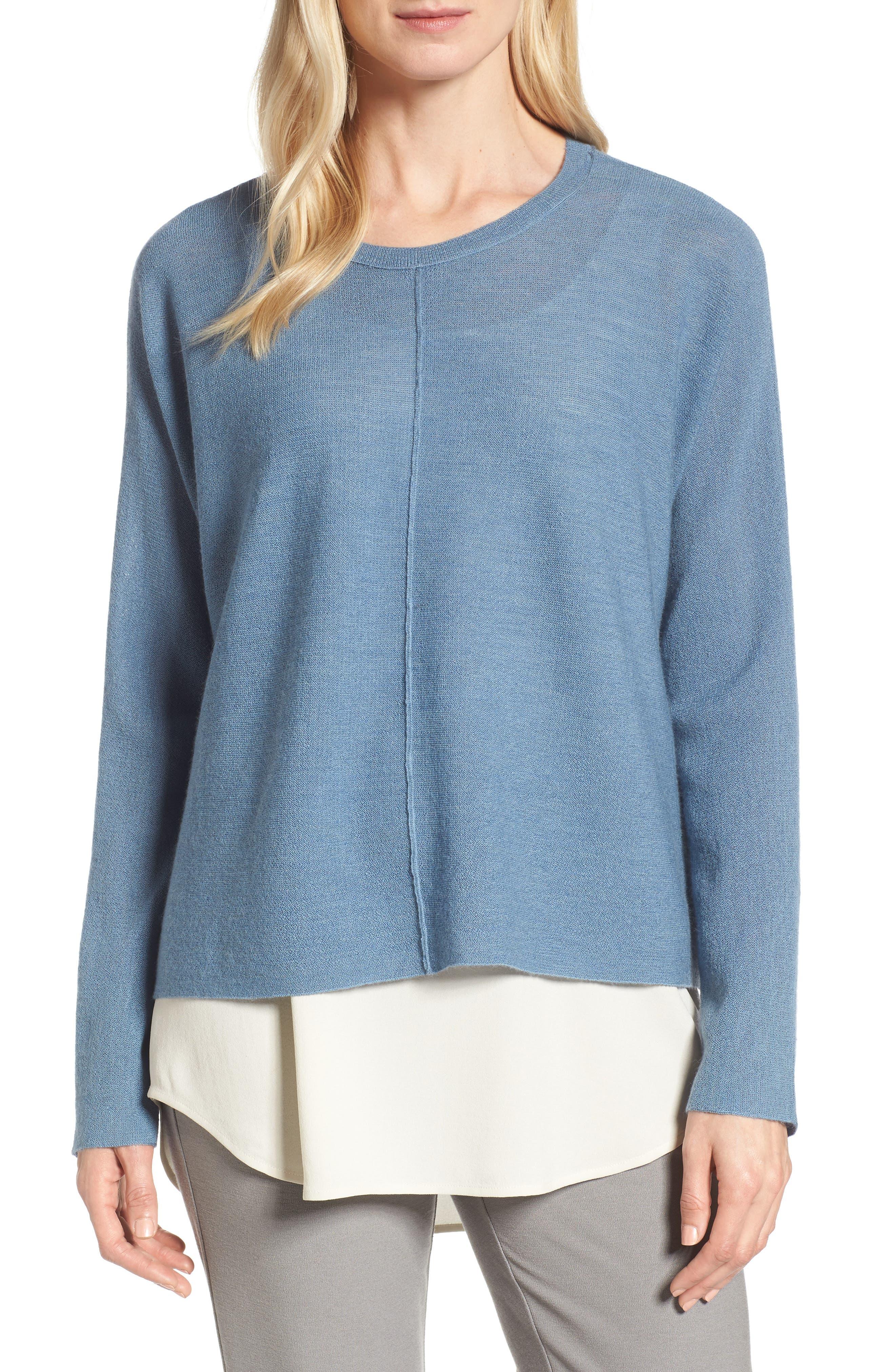 Main Image - Eileen Fisher Merino Wool Sweater