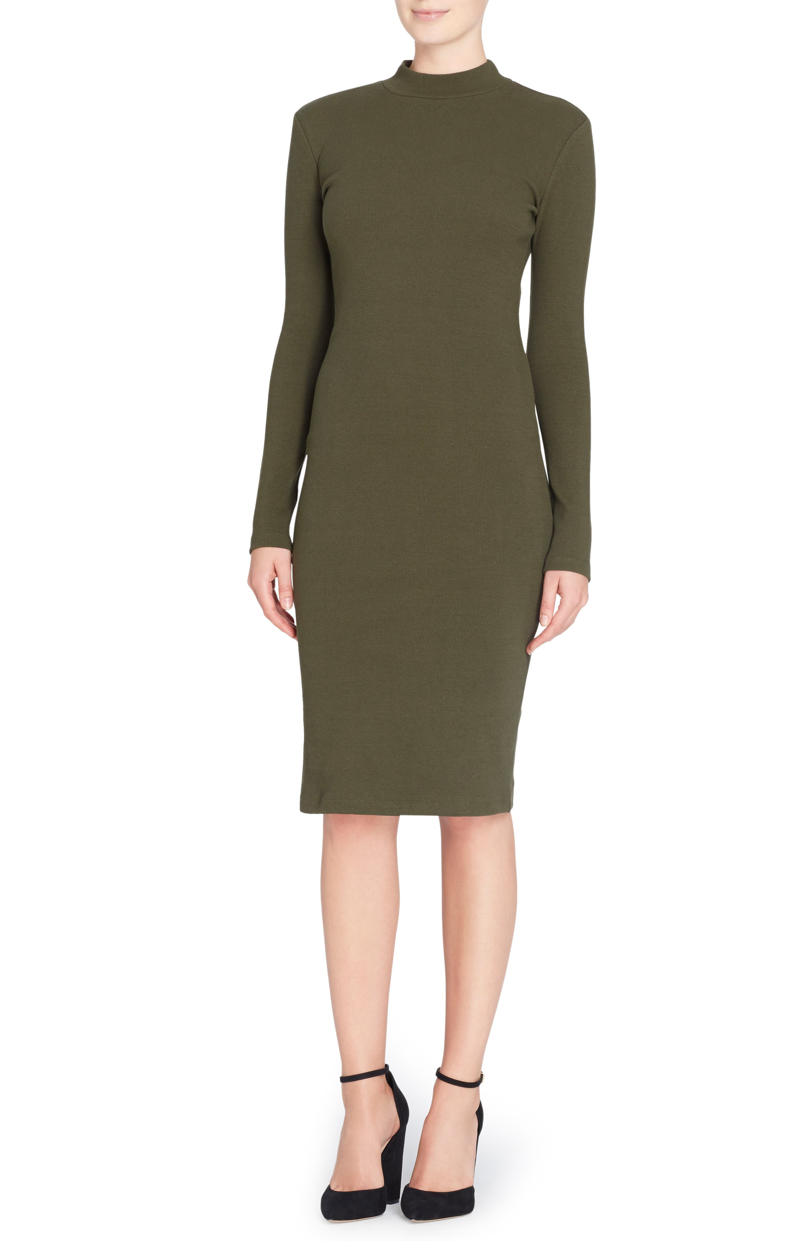 CATHERINE CATHERINE MALANDRINO Kristiana Knit Midi Dress