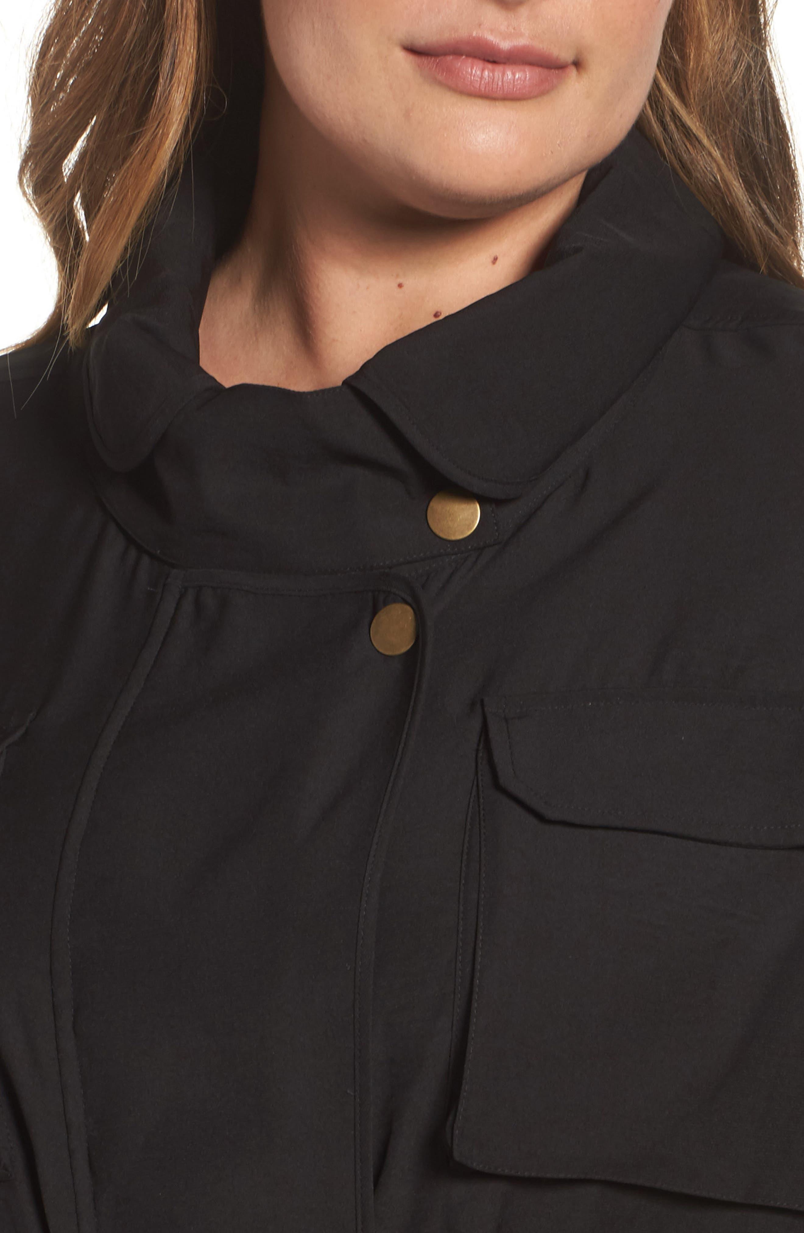 Utility Jacket,                             Alternate thumbnail 4, color,                             Black