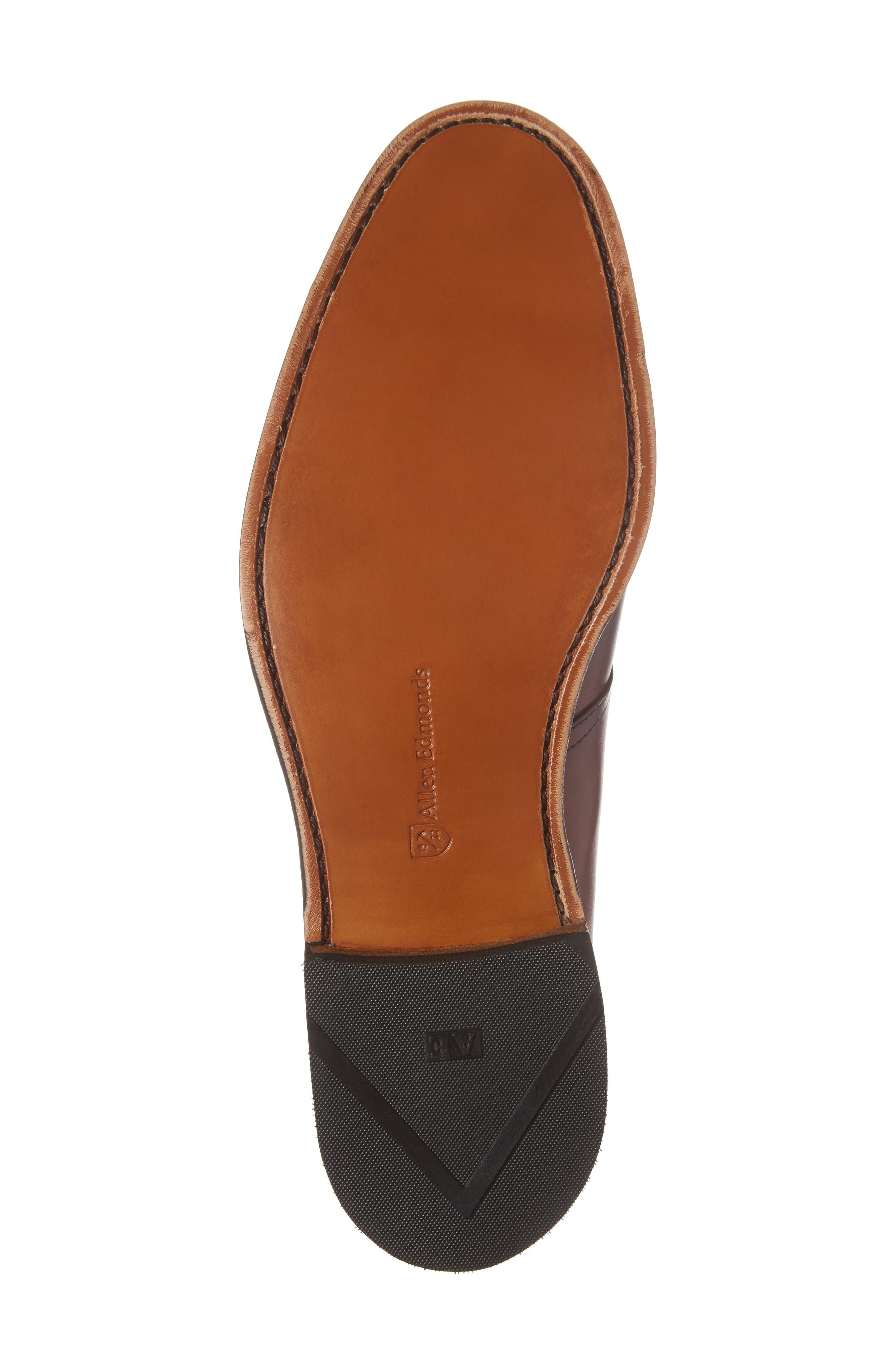 Warwick Monk Strap Shoe,                             Alternate thumbnail 6, color,                             Oxblood Leather