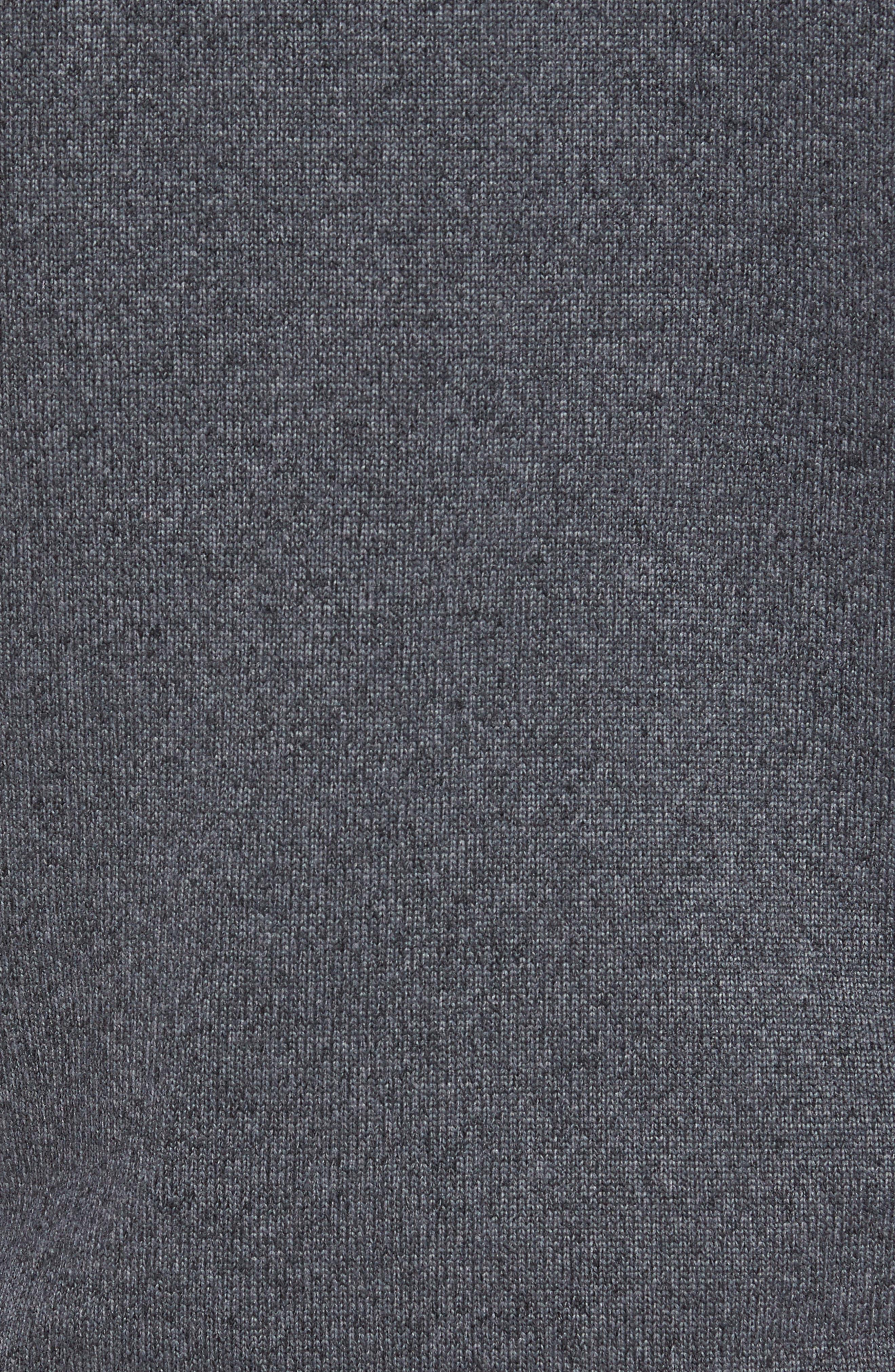 Tech Sweater Fleece Vest,                             Alternate thumbnail 5, color,                             Charcoal