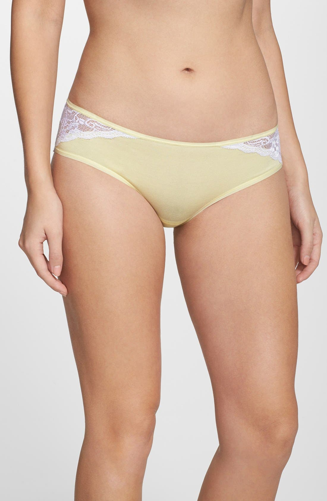 Main Image - Felina 'Charming' Lace Back Hipster Briefs