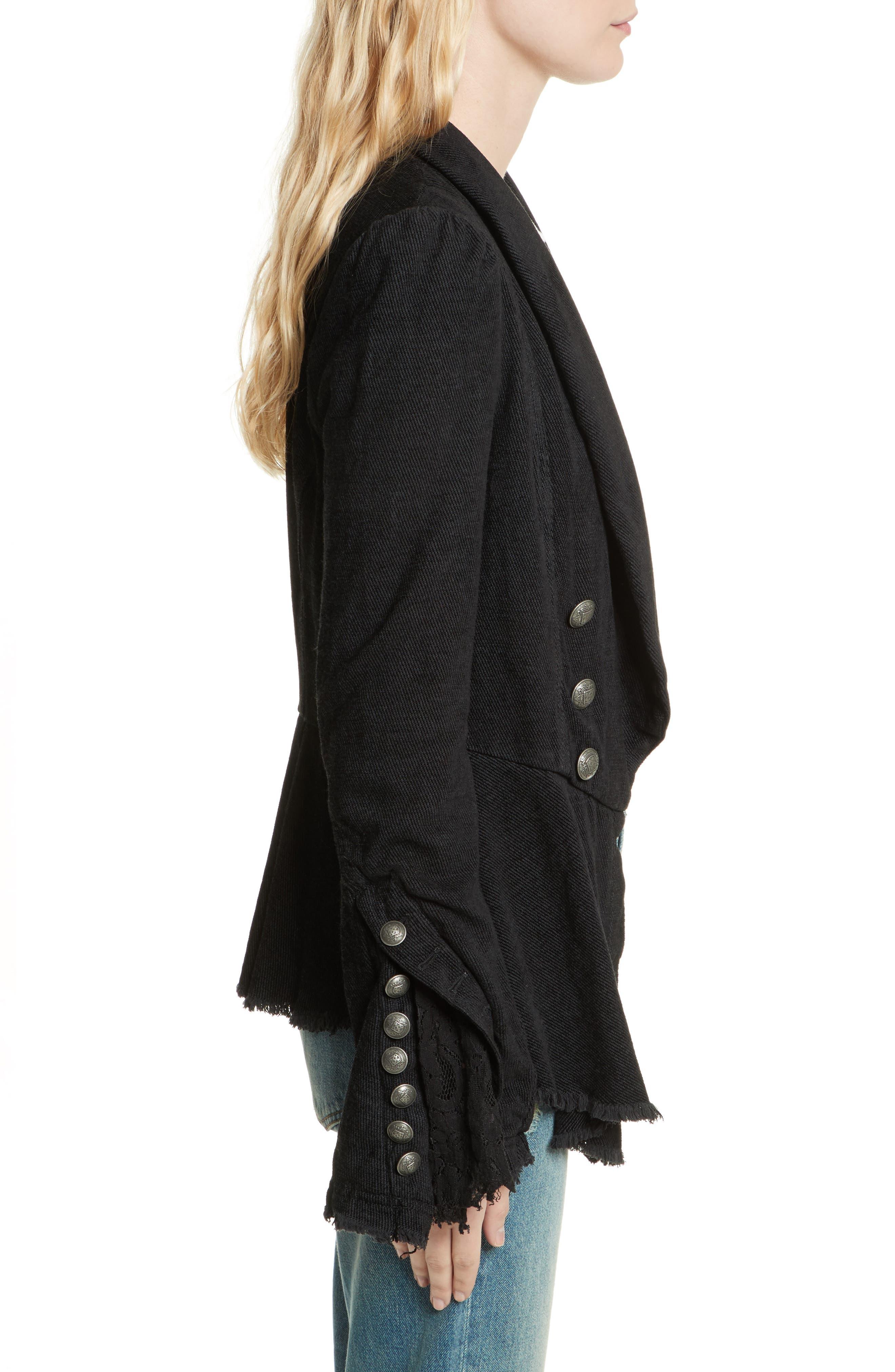 Alternate Image 3  - Free People Flare Sleeve Blazer