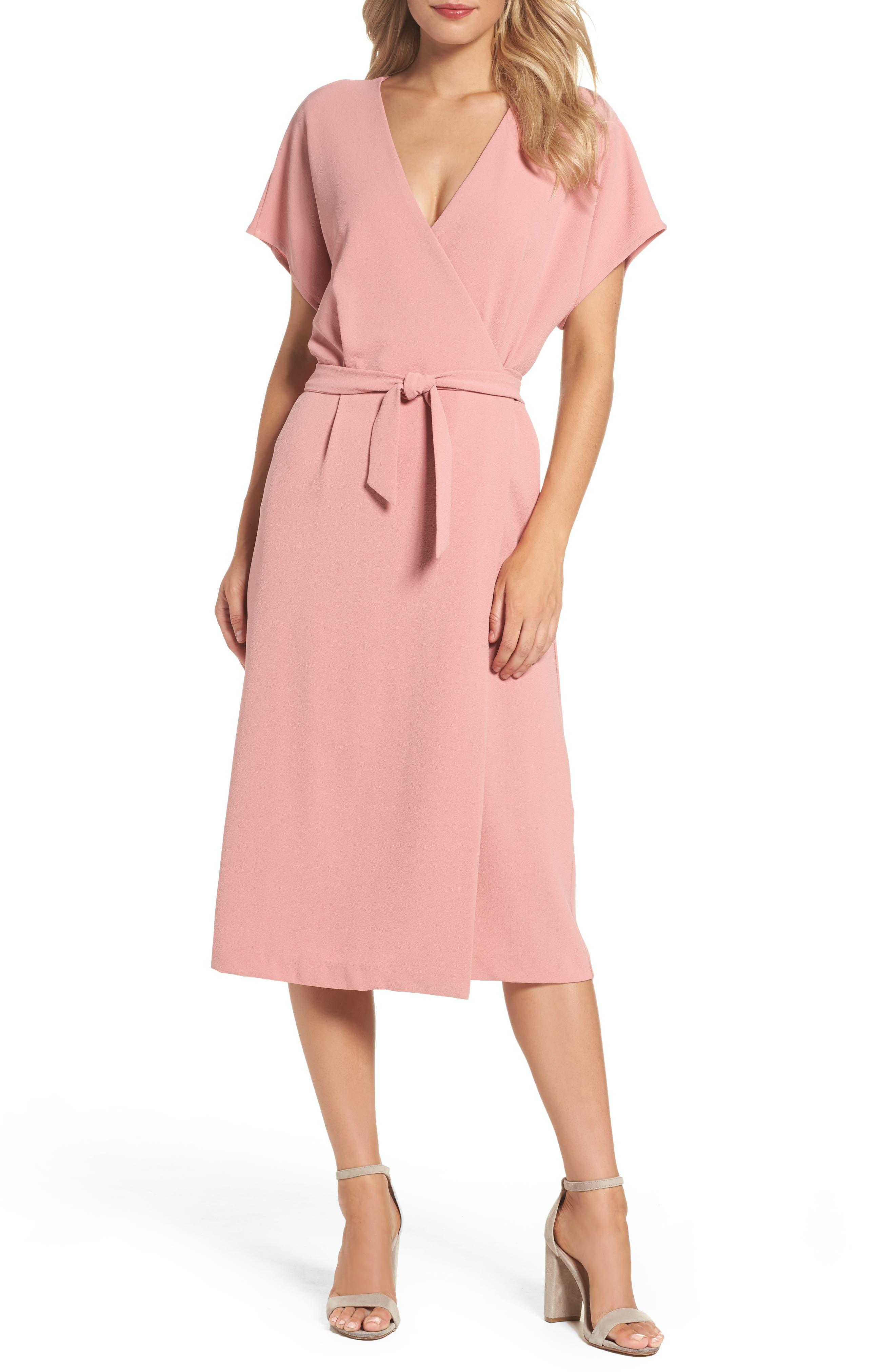 Felicity & Coco Wrap Dress (Regular & Petite) (Nordstrom Exclusive)