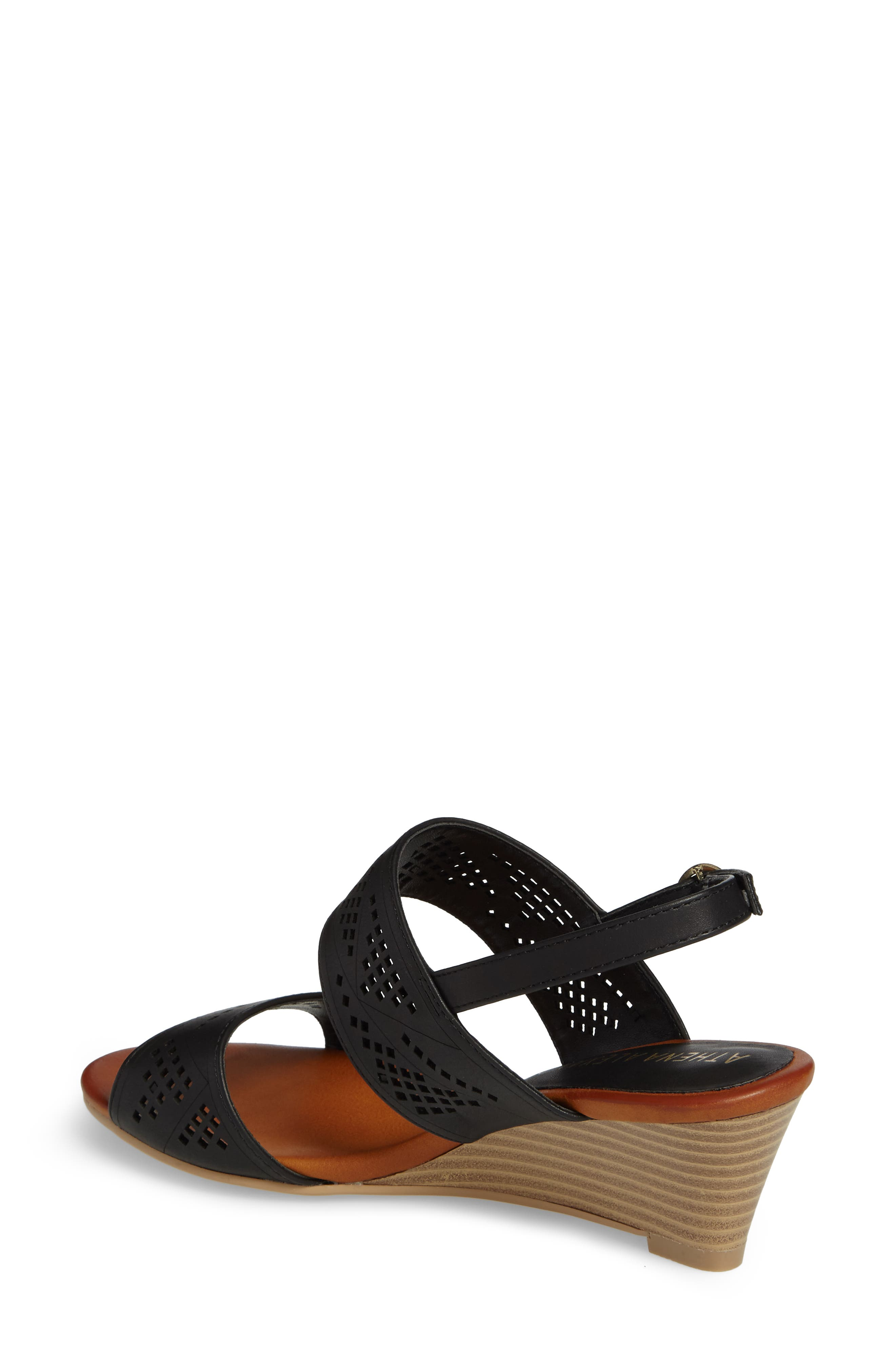 Alternate Image 2  - Athena Alexander Sparce Perforated Wedge Sandal (Women)