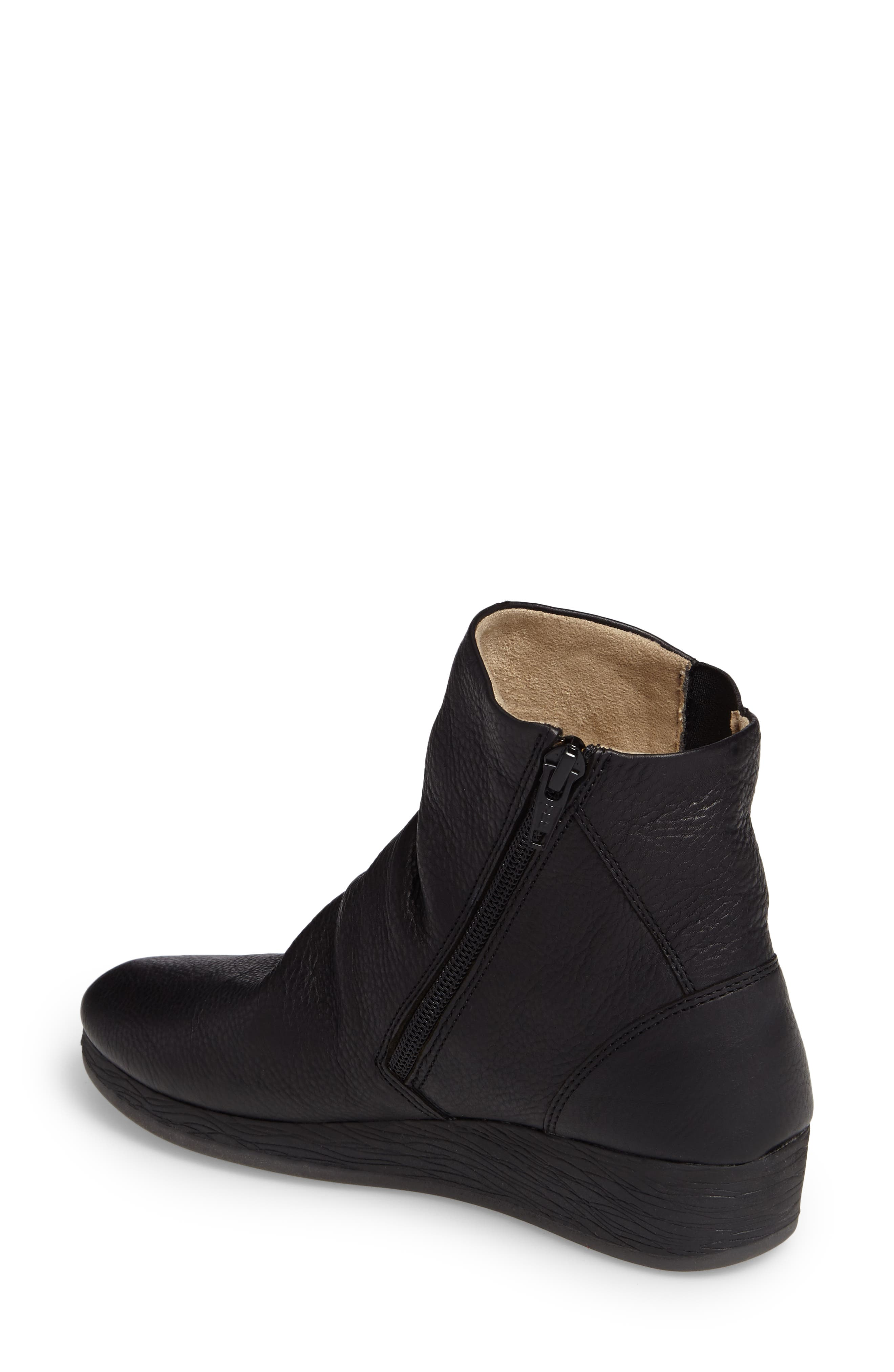 Alternate Image 2  - Softinos by Fly London Ayo Low Wedge Bootie (Women)