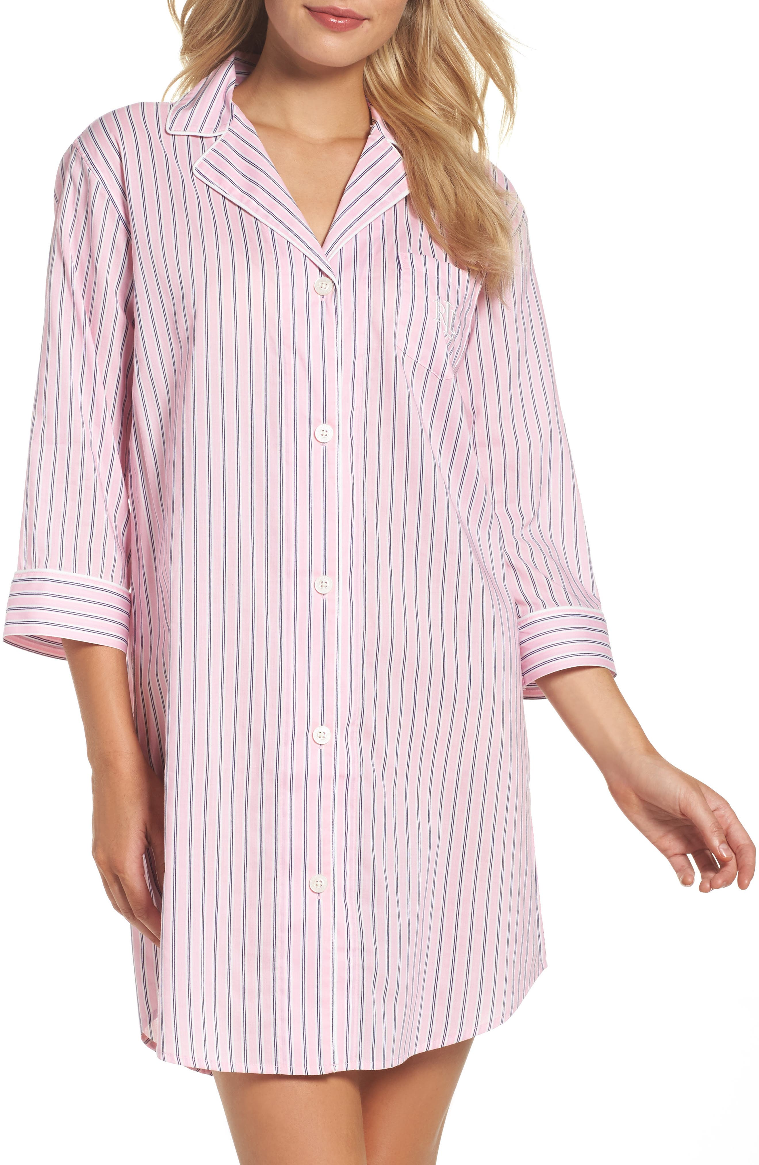 Alternate Image 1 Selected - Lauren Ralph Lauren Sleep Shirt