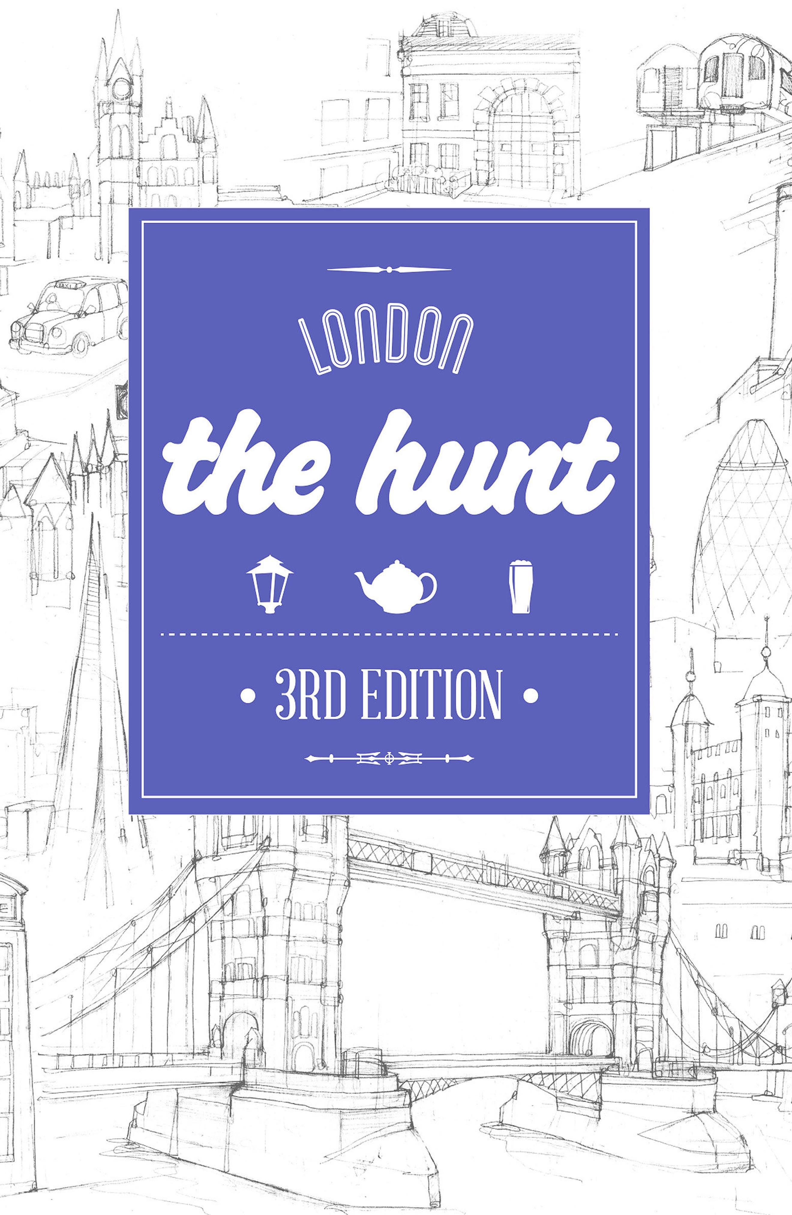 The Hunt City Guide Book,                         Main,                         color, London