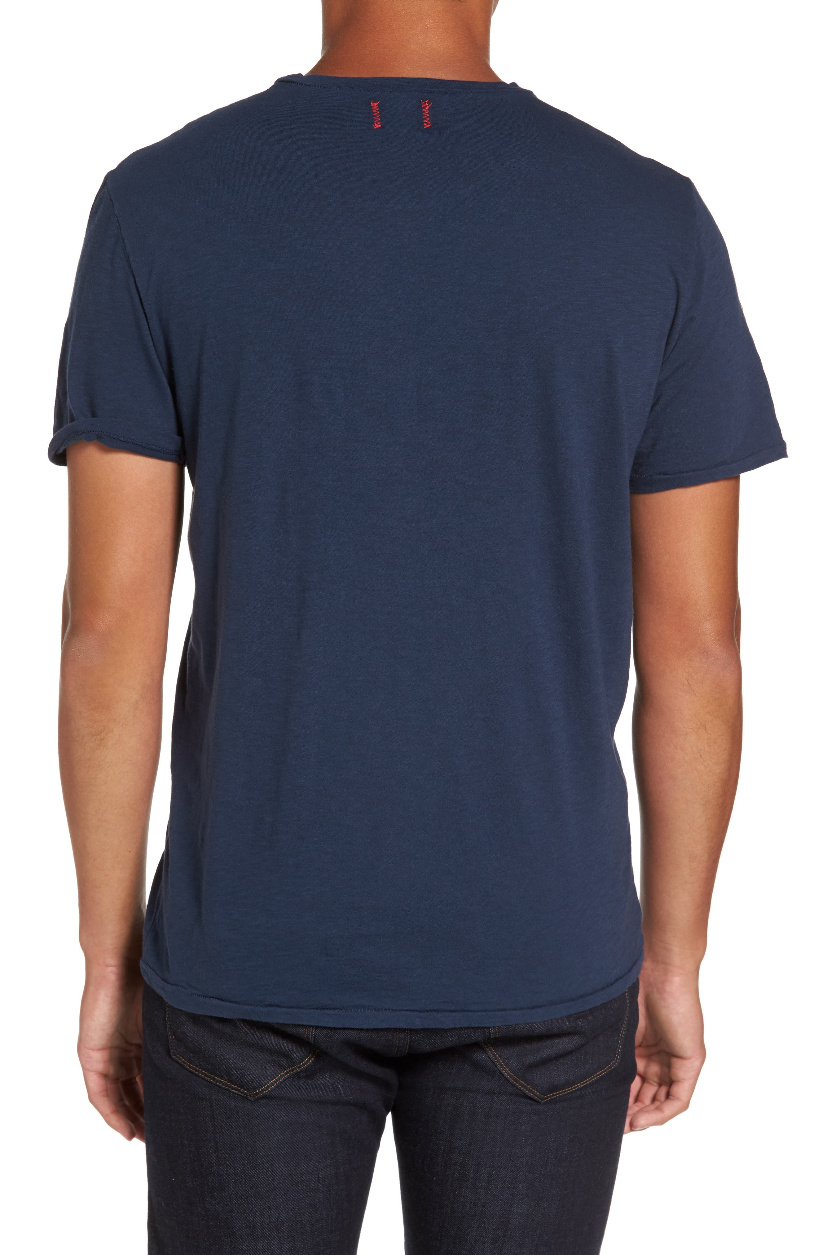Chase Classic Crewneck T-Shirt,                             Alternate thumbnail 2, color,                             Navy
