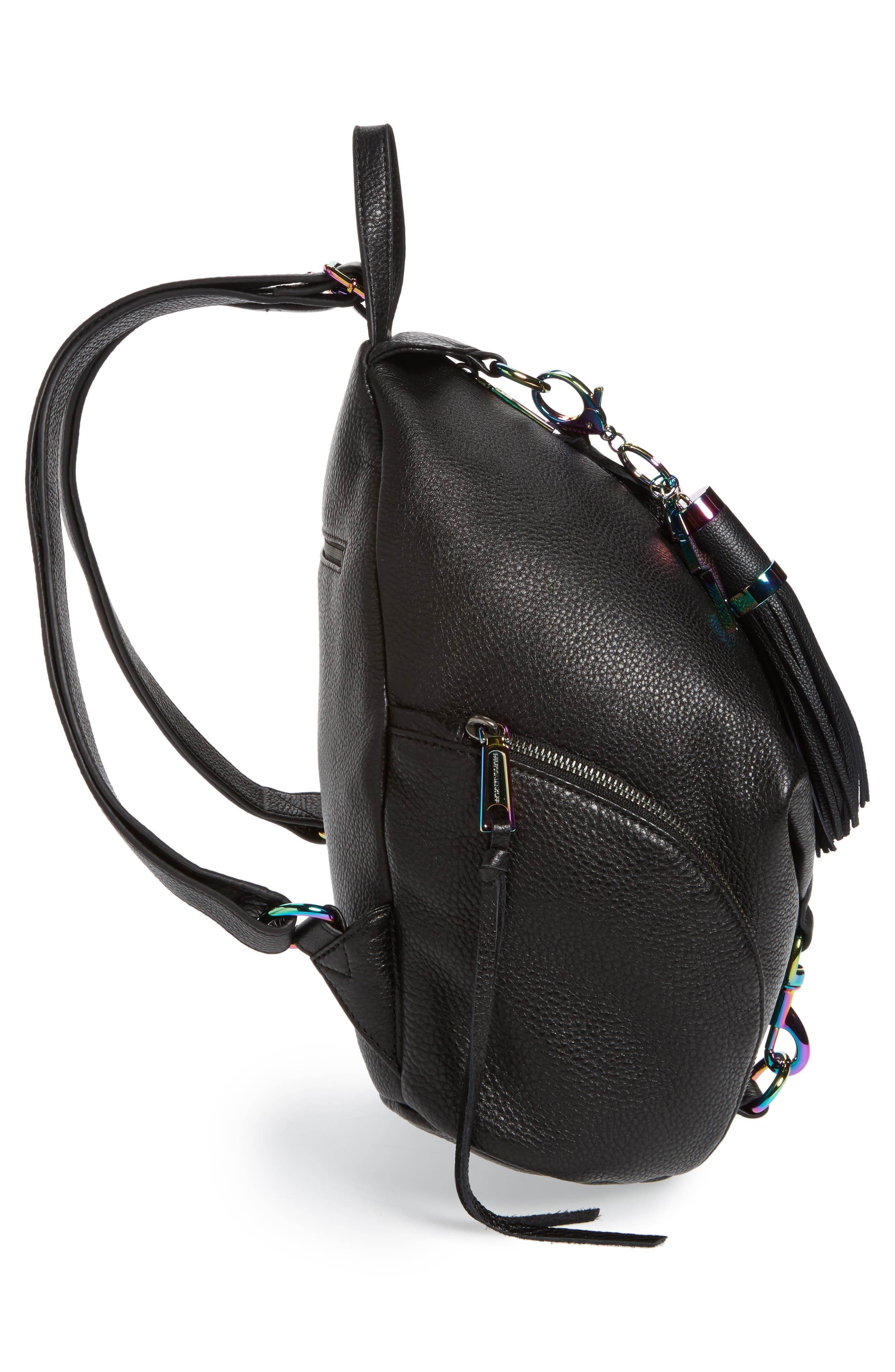 Alternate Image 5  - Rebecca Minkoff Julian Always On Charging Leather Backpack