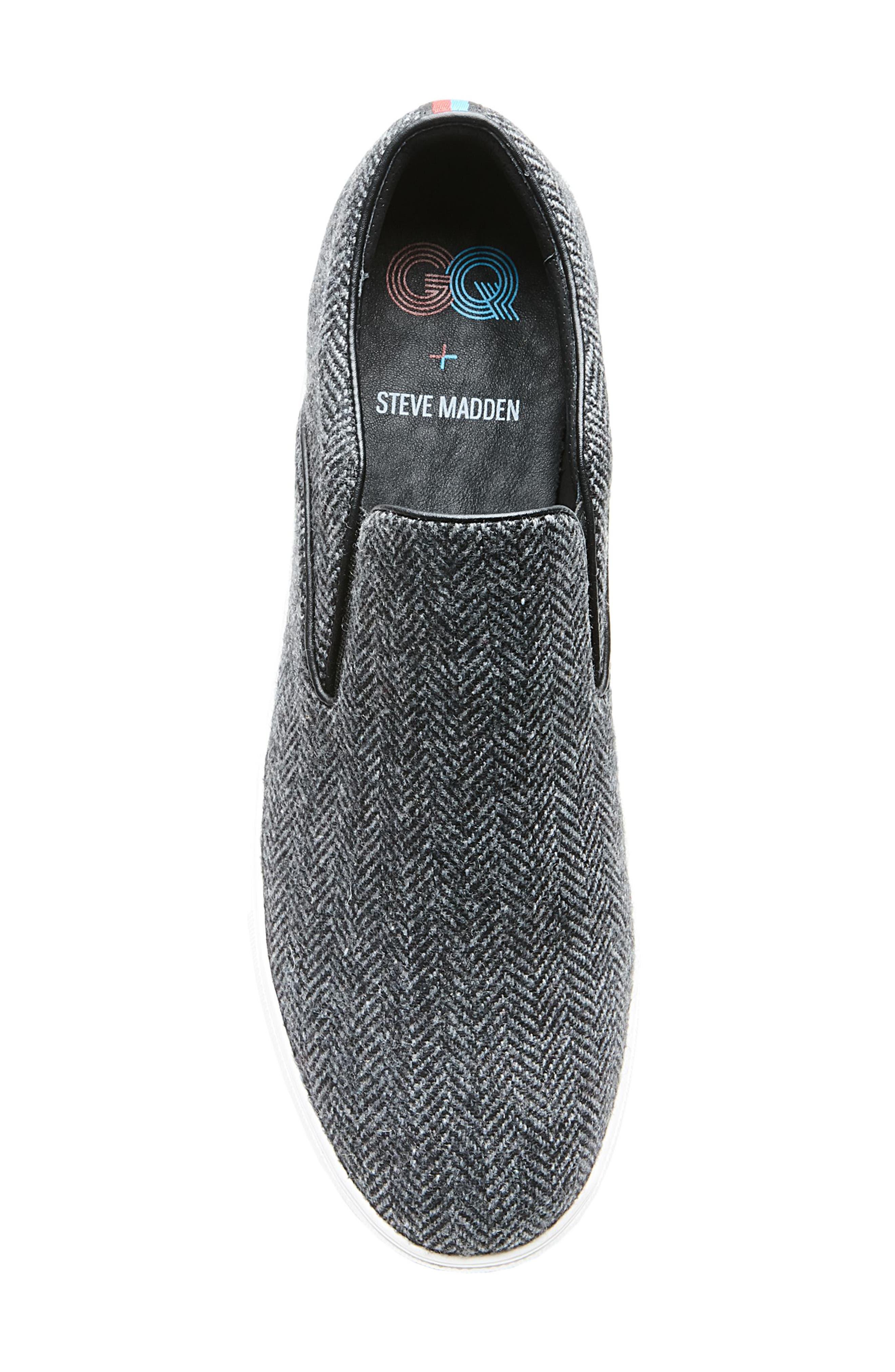 Alternate Image 5  - Steve Madden x GQ Garrit Slip-On (Men)