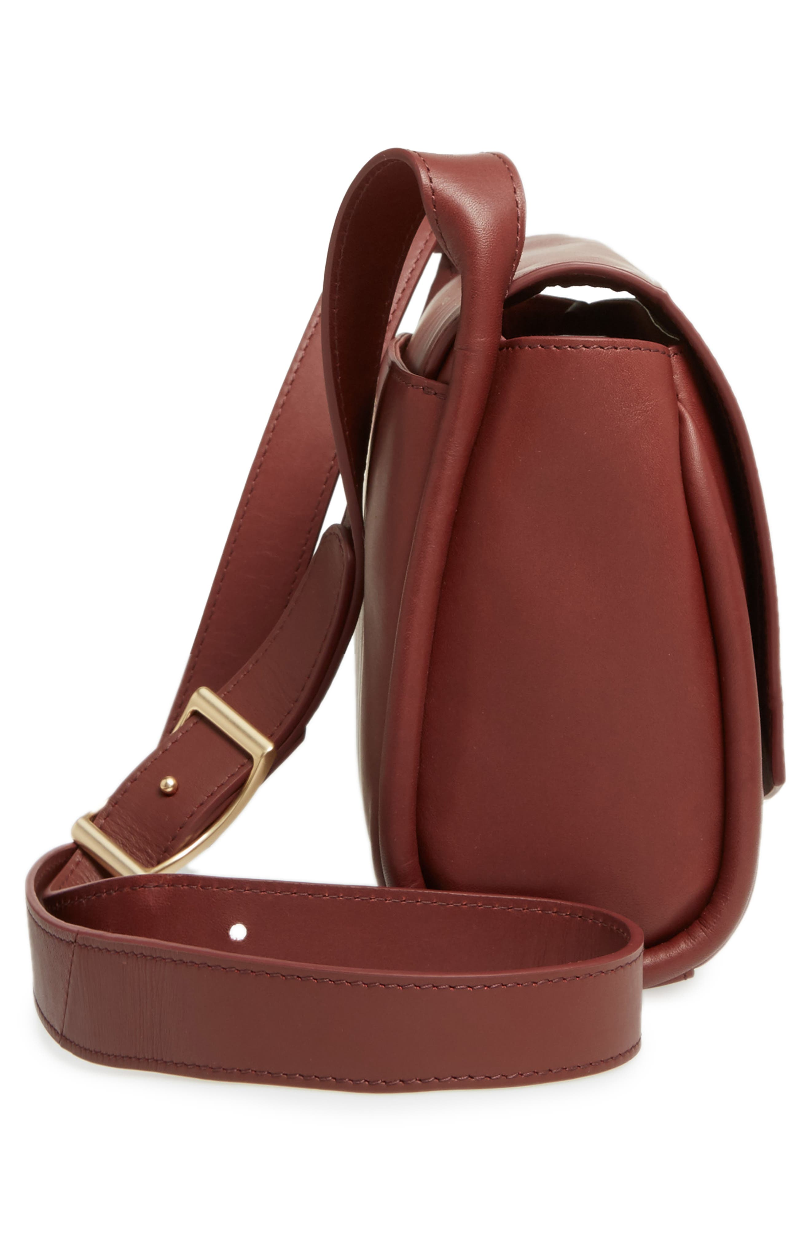 Alternate Image 4  - Skagen Sylvi Leather Crossbody Bag