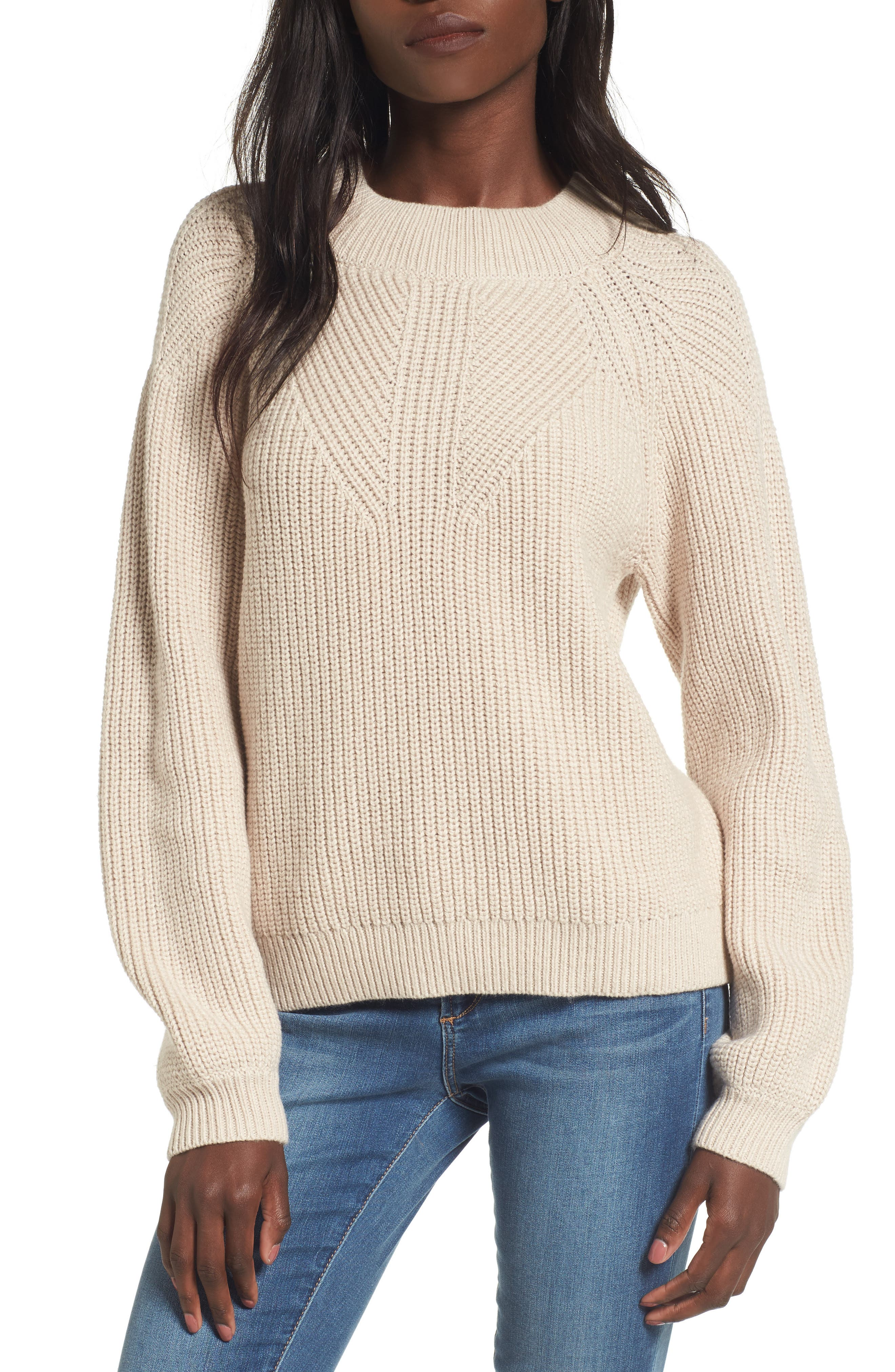 BP. Shaker Stitch Sweater