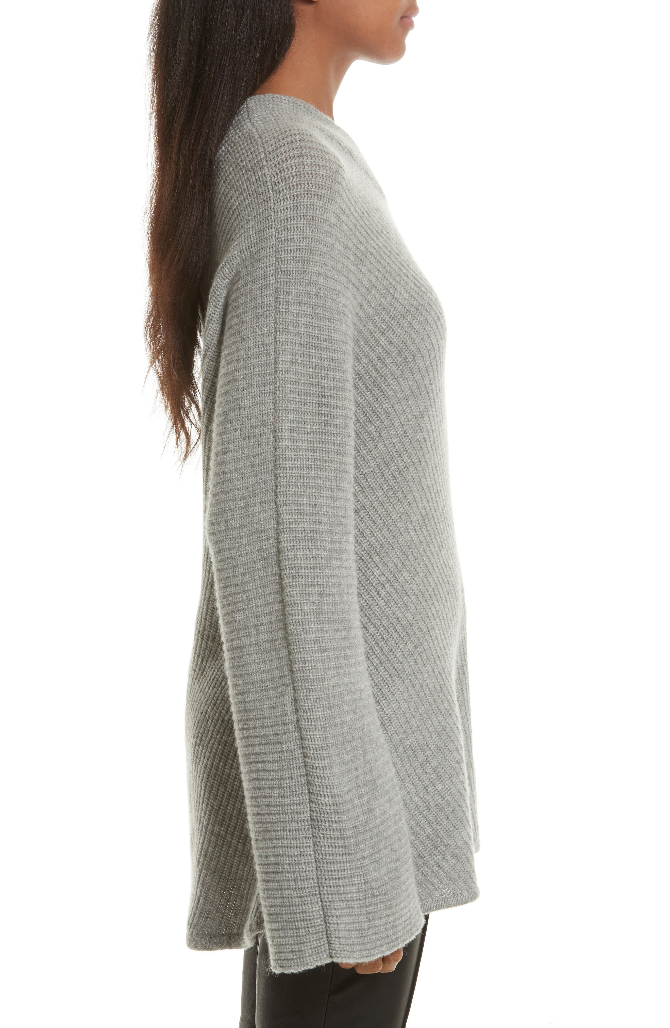 Alternate Image 4  - A.L.C. Charly Wool & Cashmere One-Shoulder Sweater