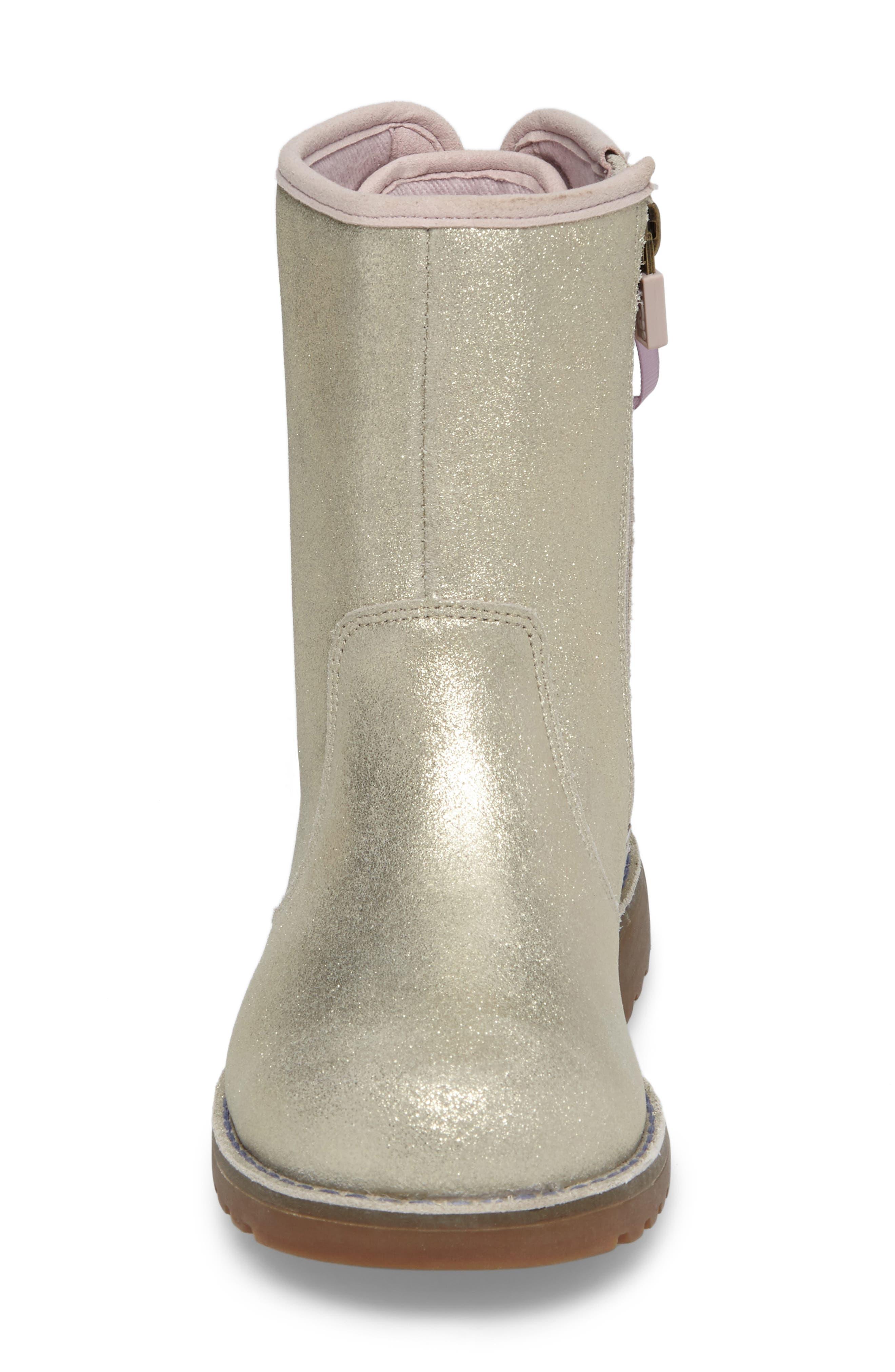 Alternate Image 4  - UGG® Corene Metallic Boot (Walker, Toddler, Little Kid & Big Kid)