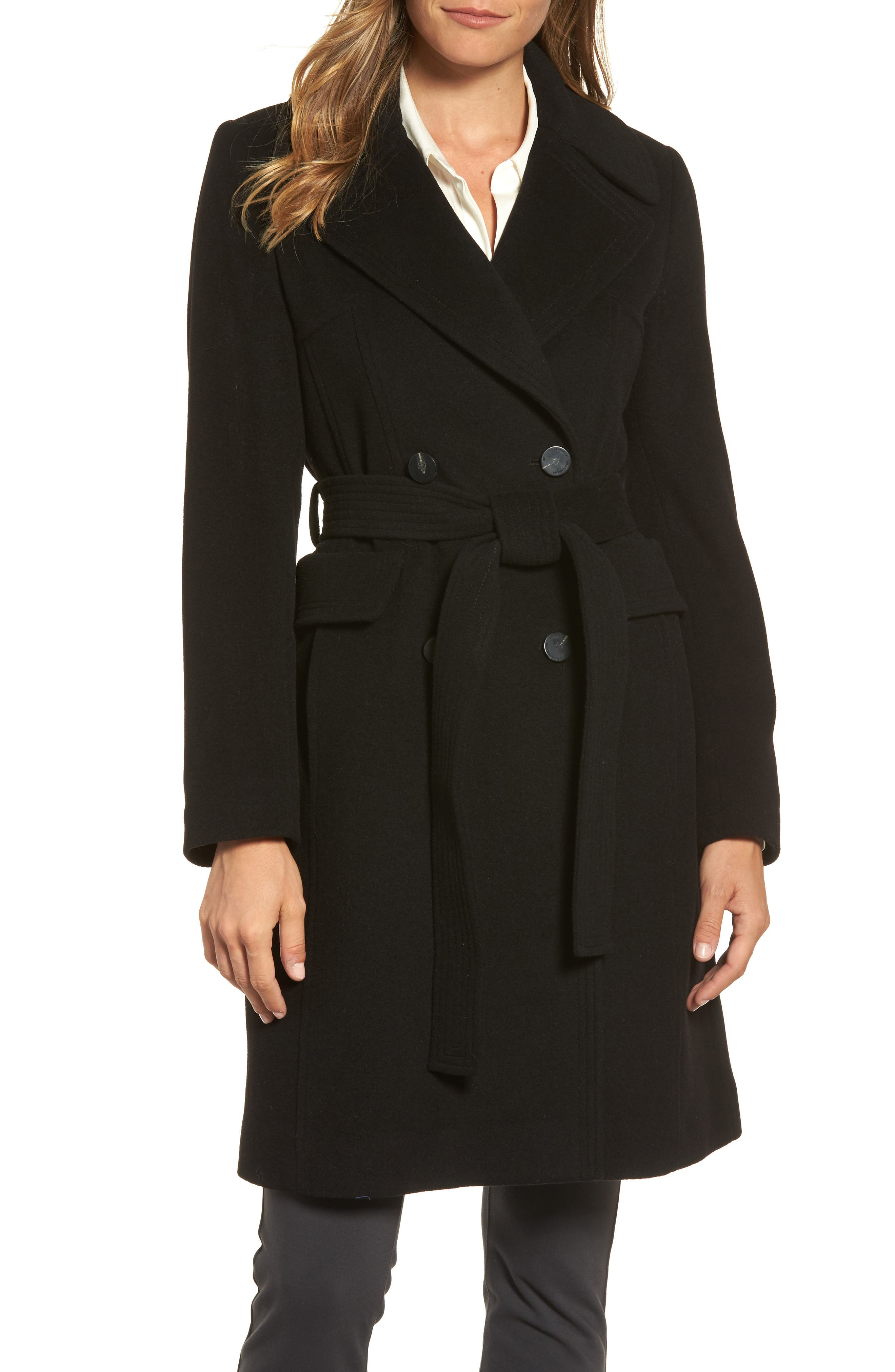 Diane von Furstenberg Double Breasted Coat