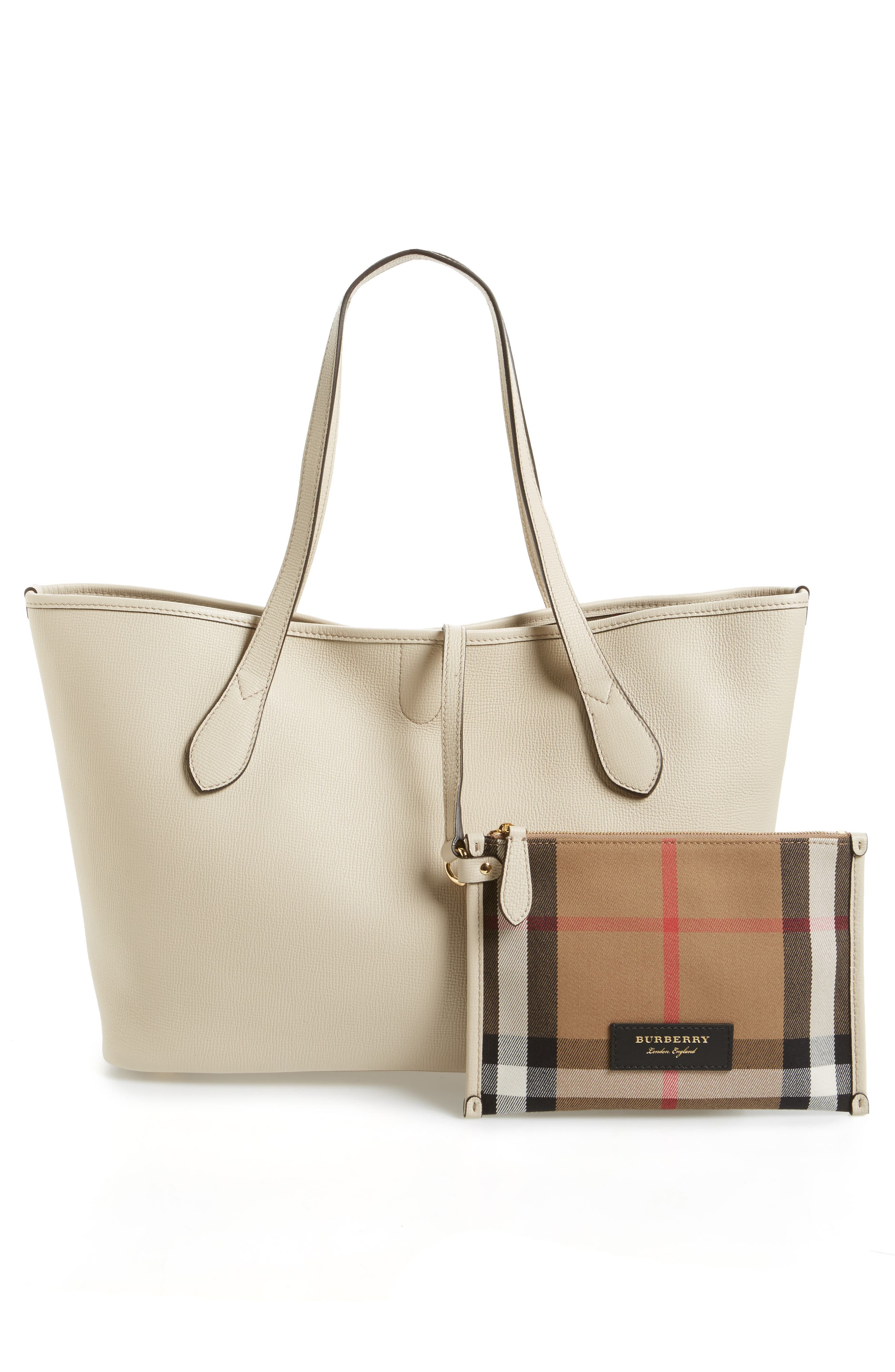 Alternate Image 3  - Burberry Medium Honeybrook Leather Tote