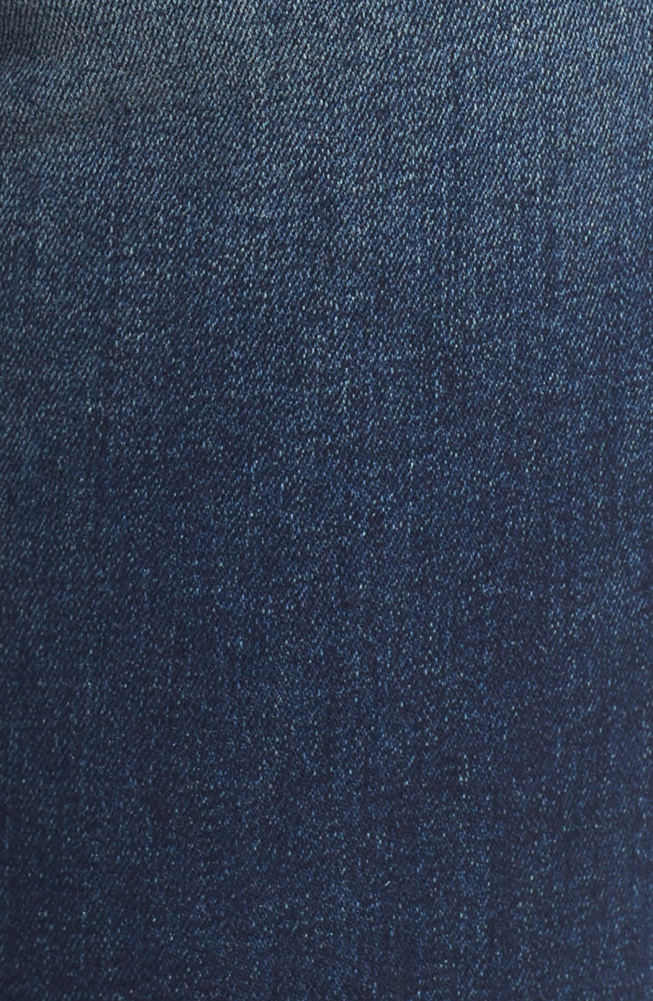 Alternate Image 5  - STS Blue Star Embroiderd Skinny Ankle Jeans